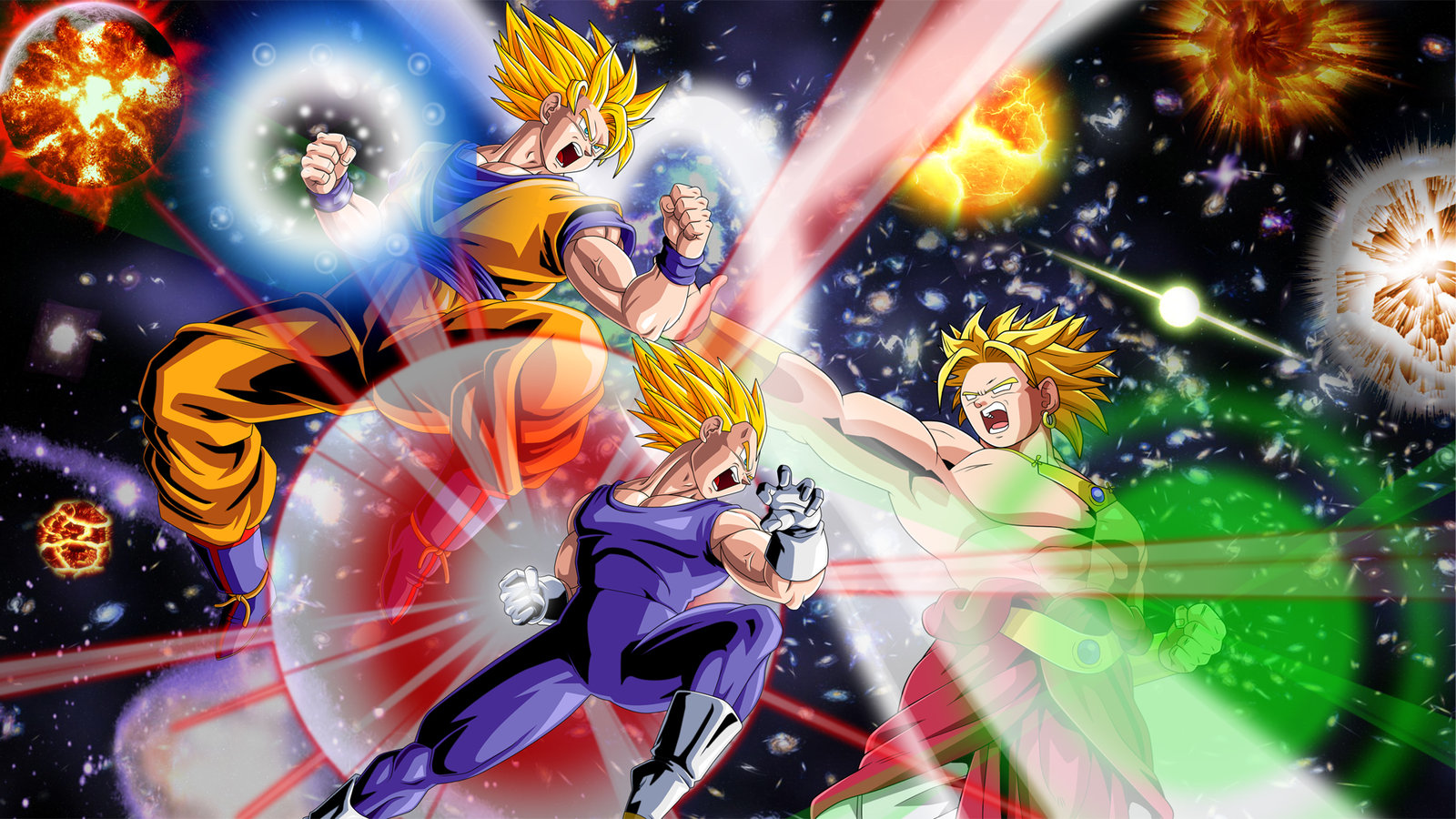 DBZ Galactic Battle by TheDummyDecoy DBZ Galactic Battle by TheDummyDecoy