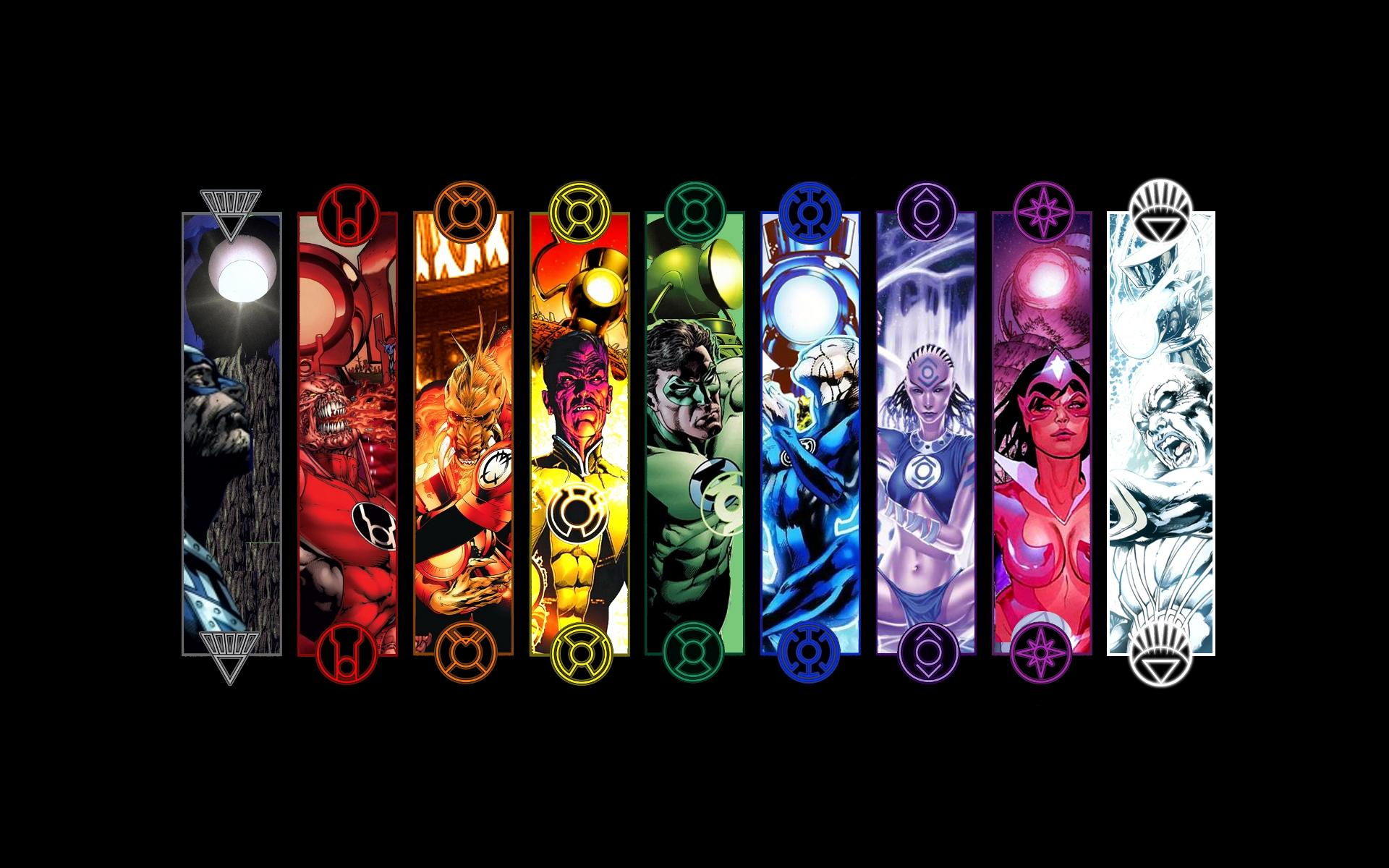 DC Comics Background