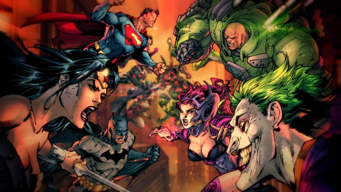 dc comics wallpaper | 1366x768 | #60990