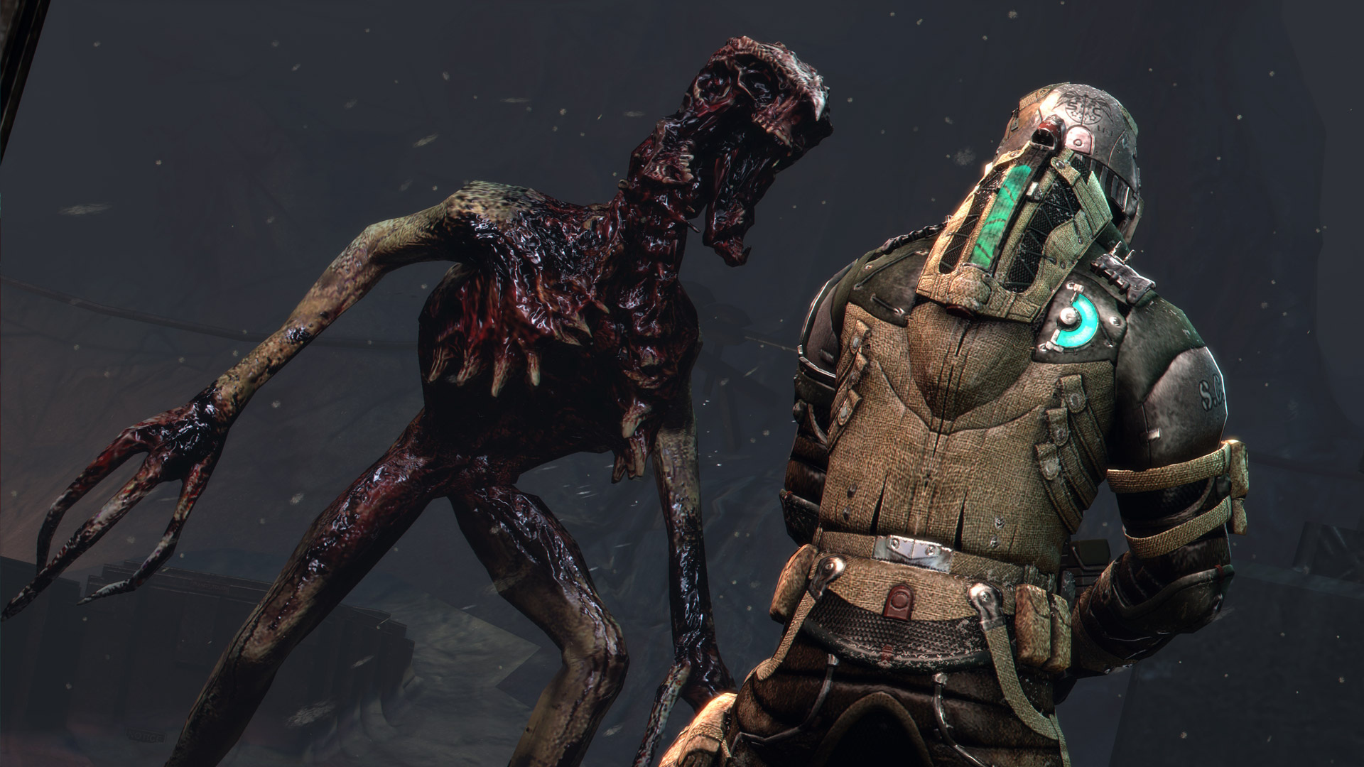 ... Dead Space 3 Screenshots Reveal Grisly Deaths, Wooden Soldiers