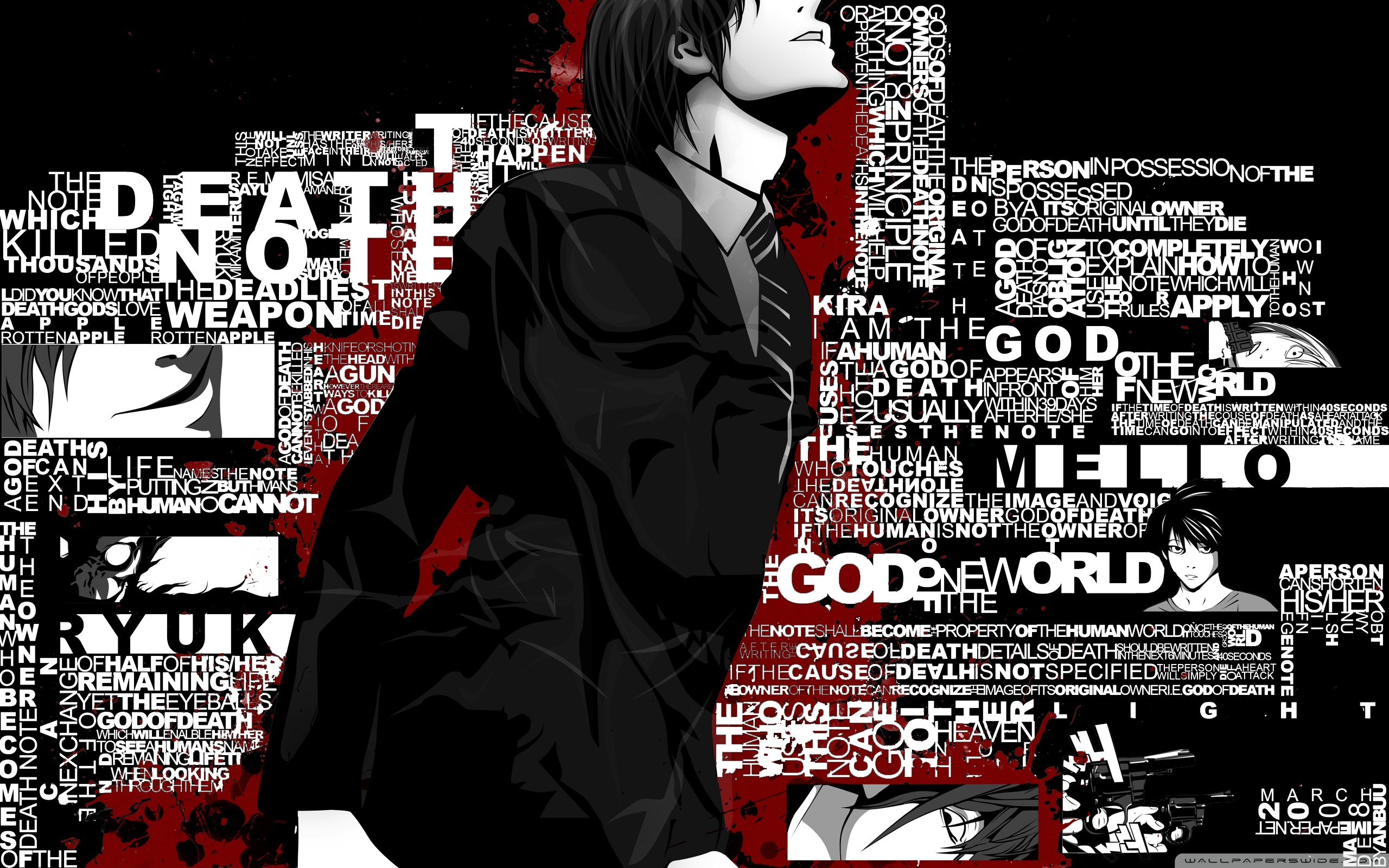 HD Wallpaper | Background ID:332761. 2560x1600 Anime Death Note