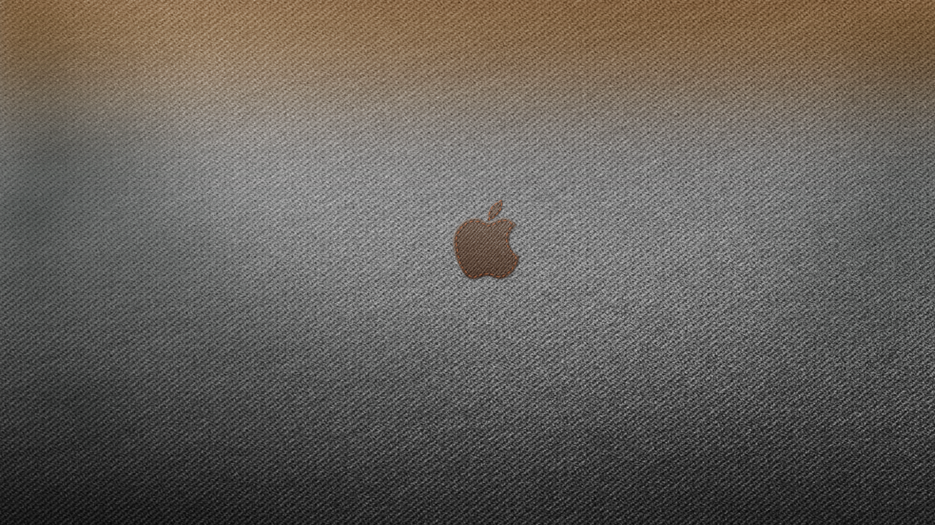 Denim Apple Wallpaper