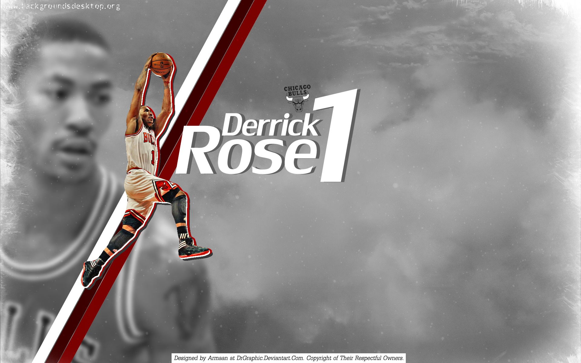 Derrick Rose Number 1 Players 17689 Hi-Resolution