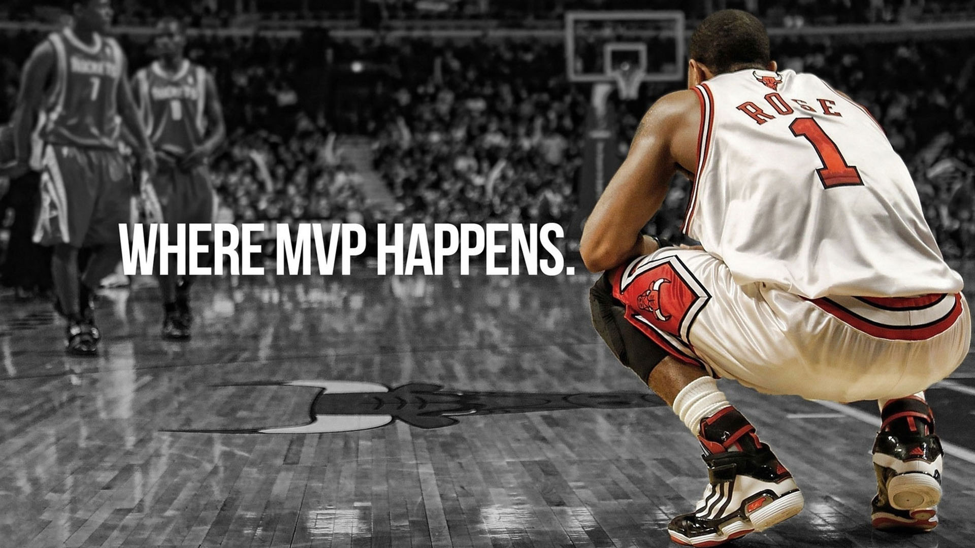 ... Where MPV Happens - Derrick Rose HD Wallpaper ...