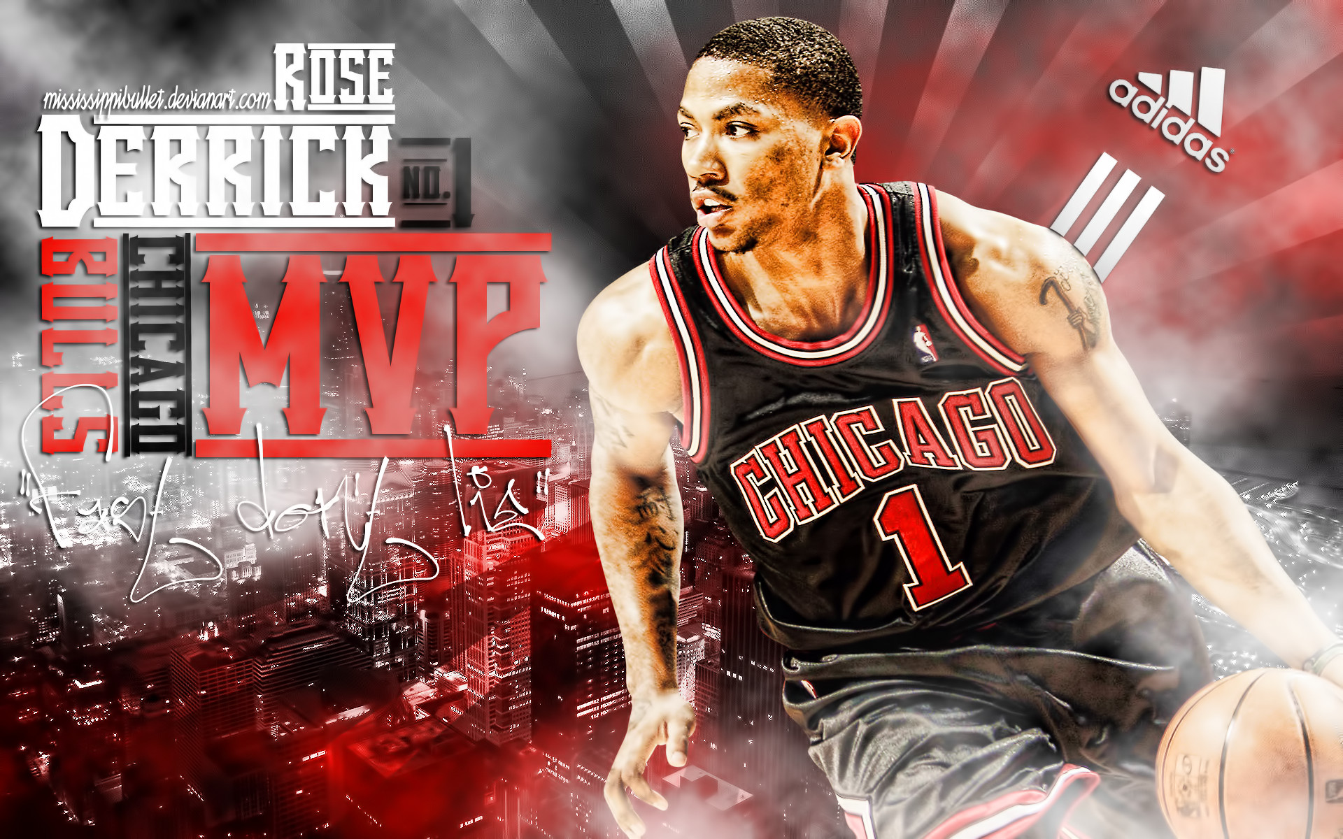 Derrick Rose Wallpaper 2012 Hd 1920x1200
