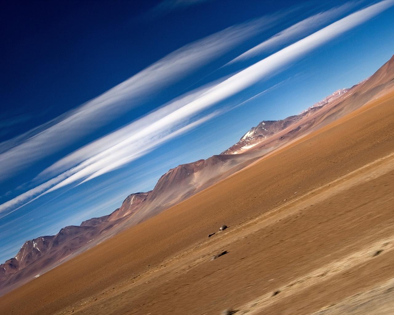 Desert argentina