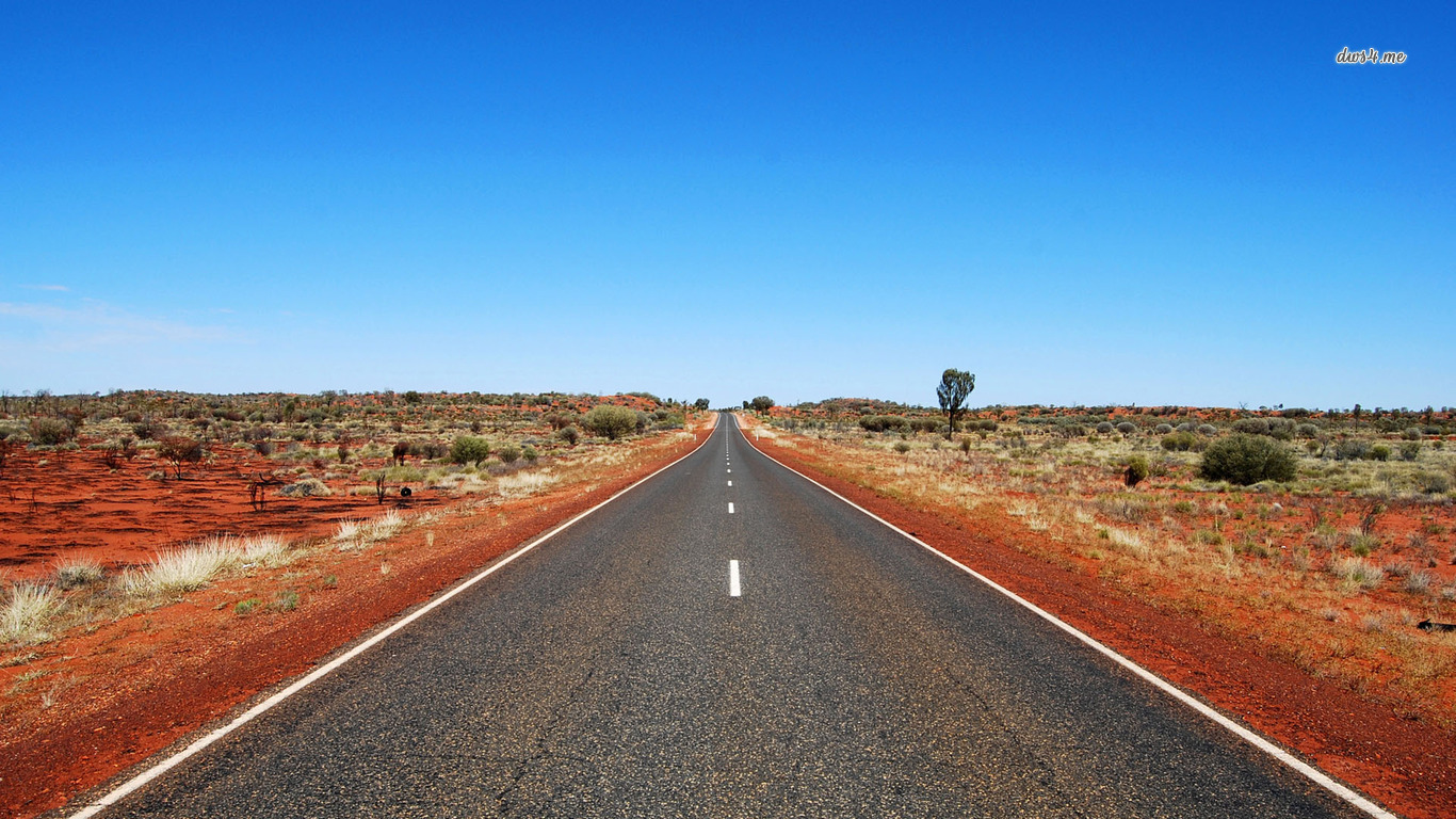 View And Download Desert Road Wallpapers