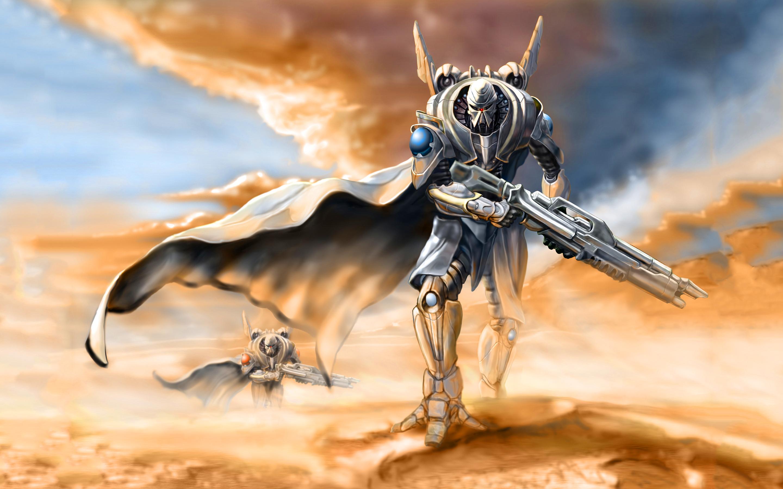 Desert robots