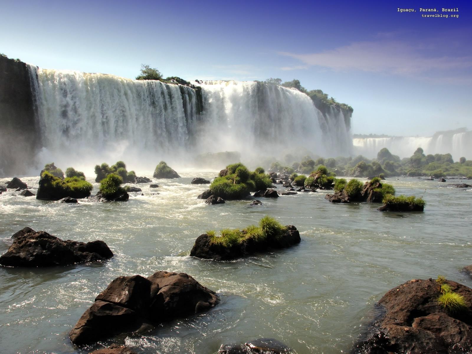 Waterfall Desktop Background