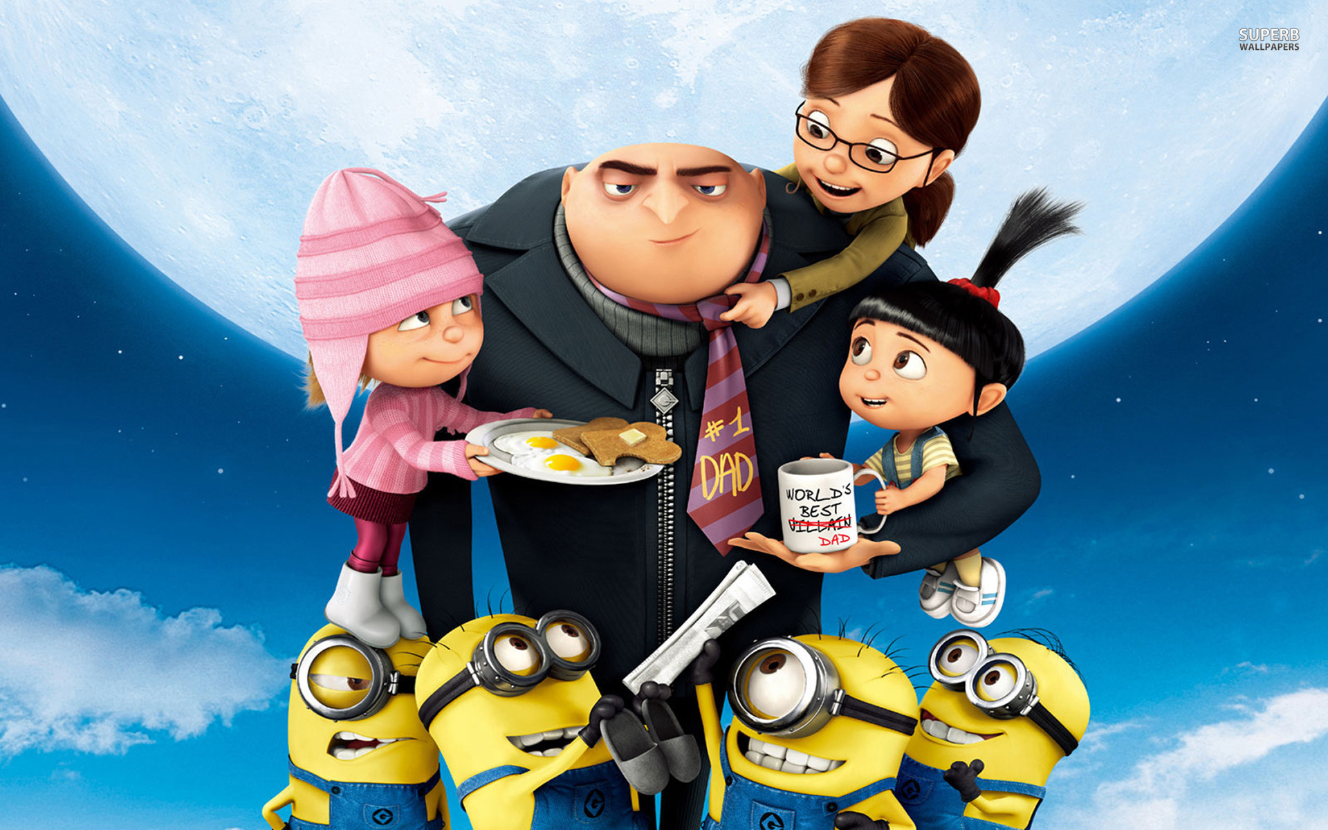 Despicable Me 2 wallpaper 1920x1200 jpg