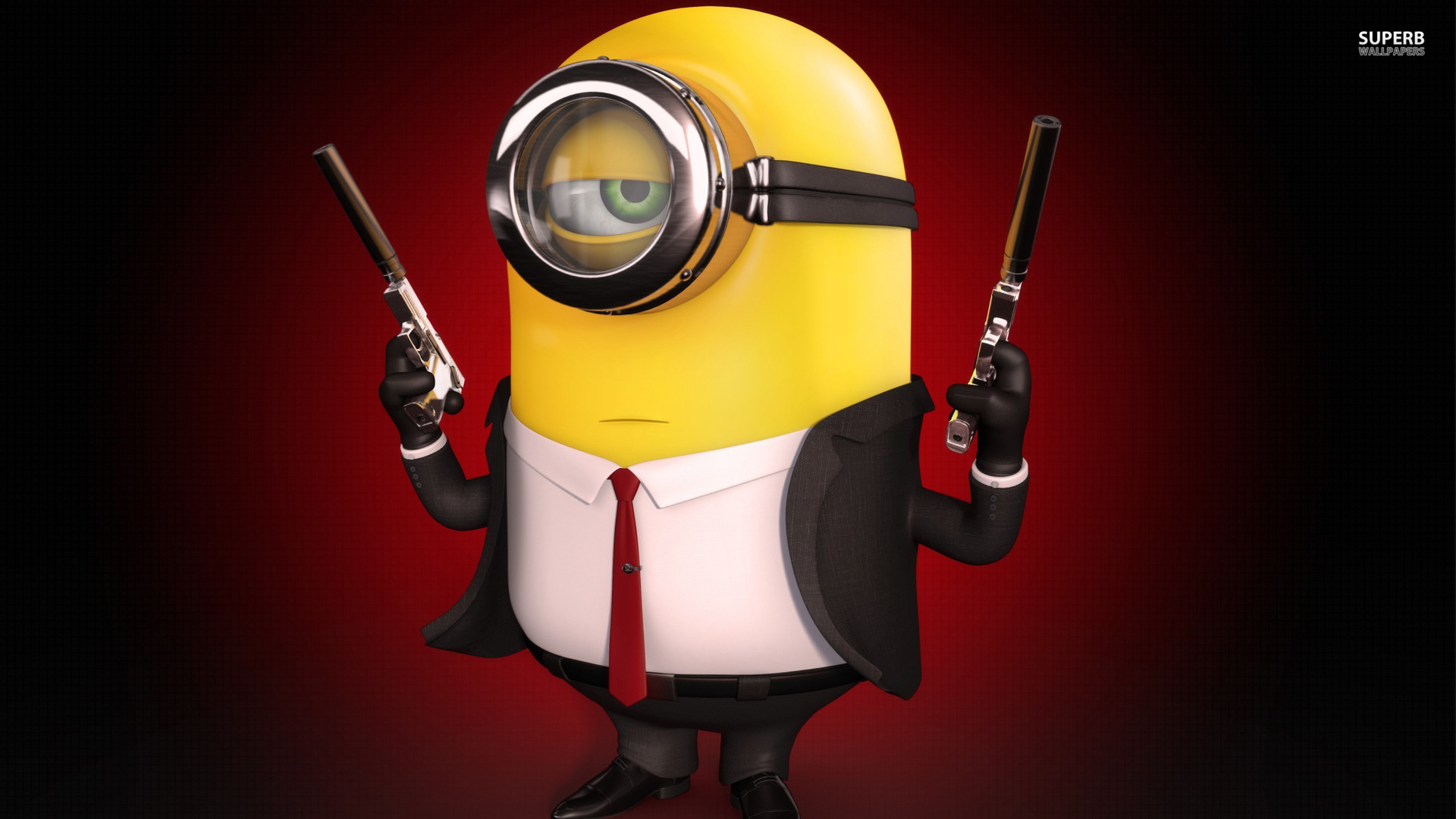 Hitman minion wallpaper 1920x1080