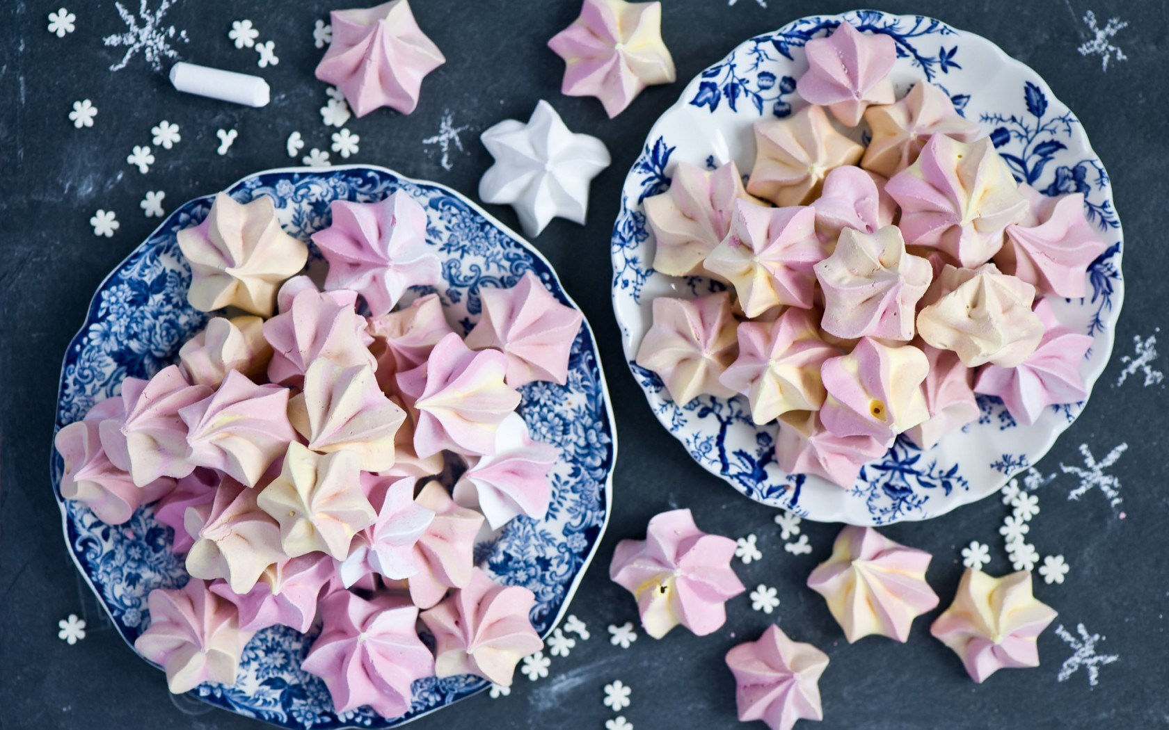 Dessert Meringue Sweets Christmas Winter New Year