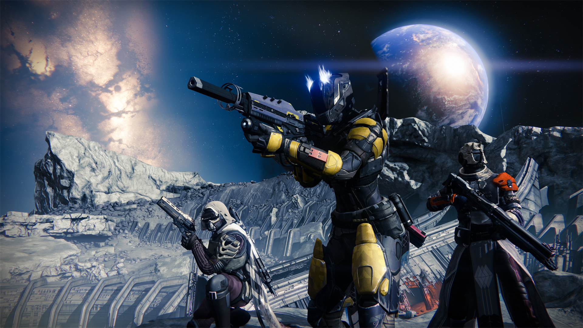 Destiny 'The Moon' Gameplay Trailer, Beta Announced For Early 2014