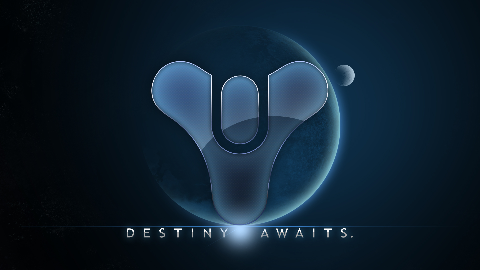 Destiny Logo Wallpaper