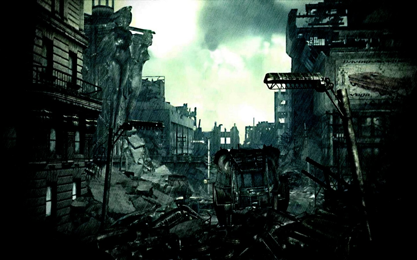 fallout city dc apocalypse destroyed