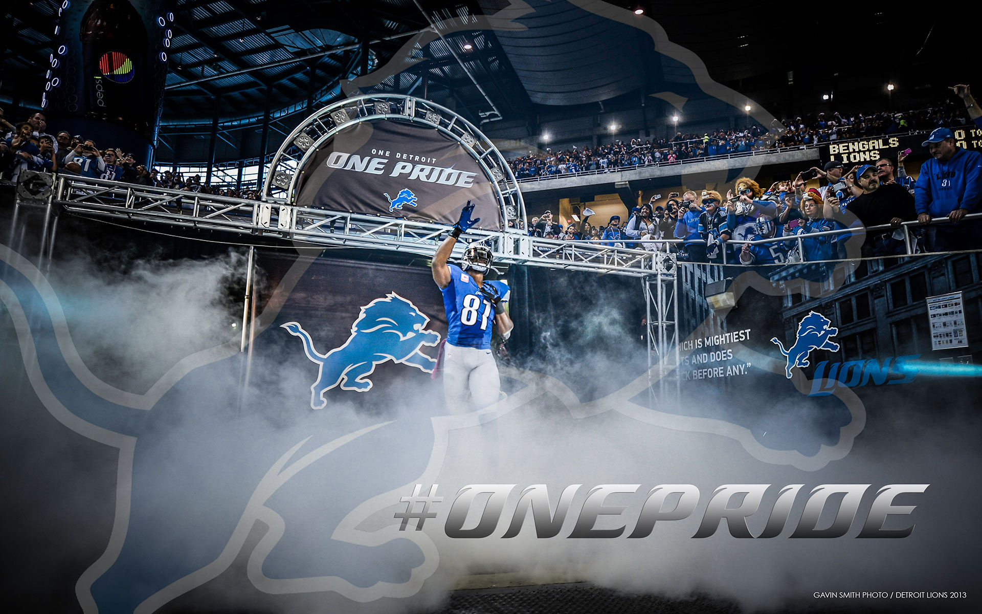 Detroit Lions Wallpaper. 1920 x 1200 ...