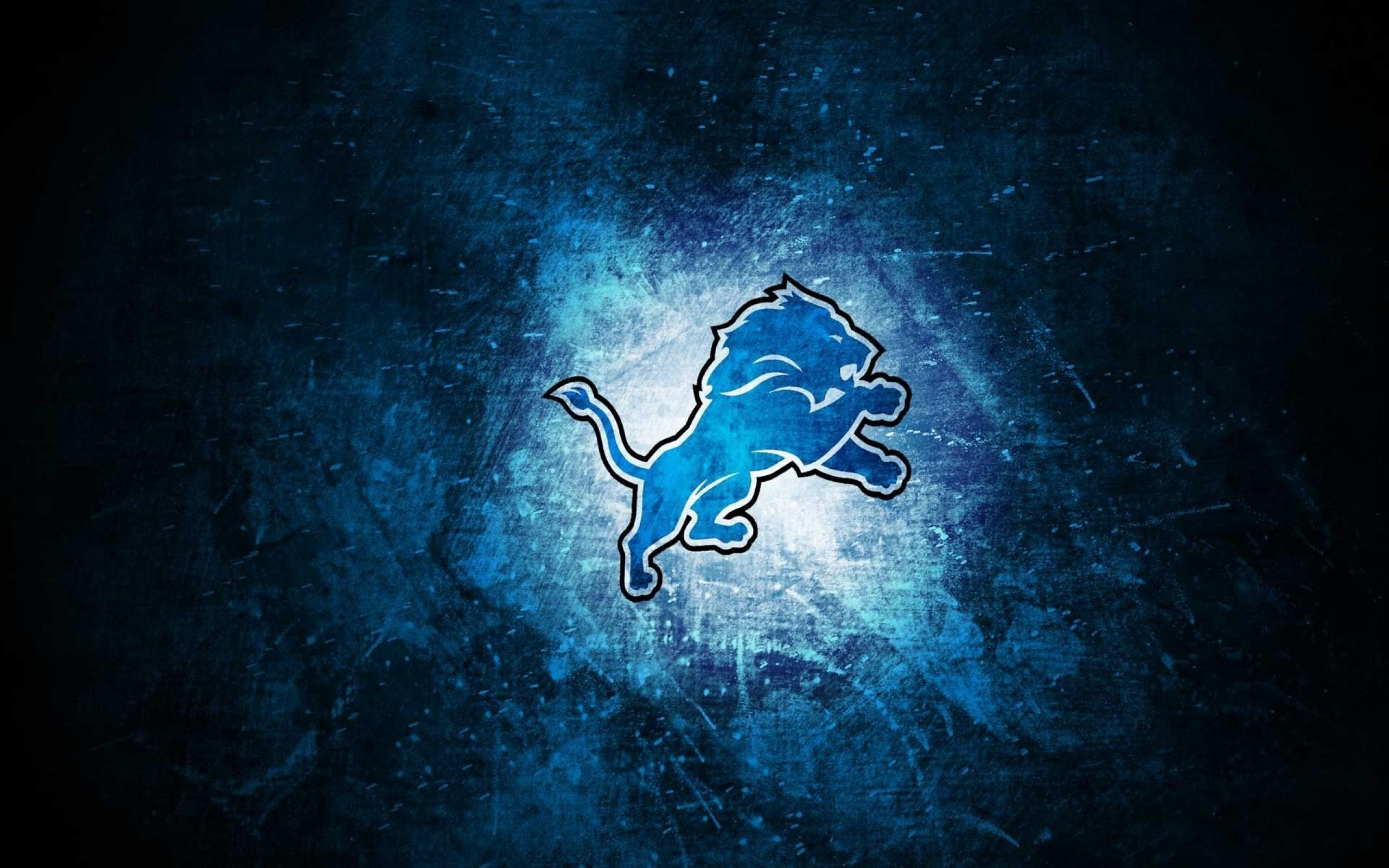 Detroit Lions 2014 NFL Logo Wallpaper