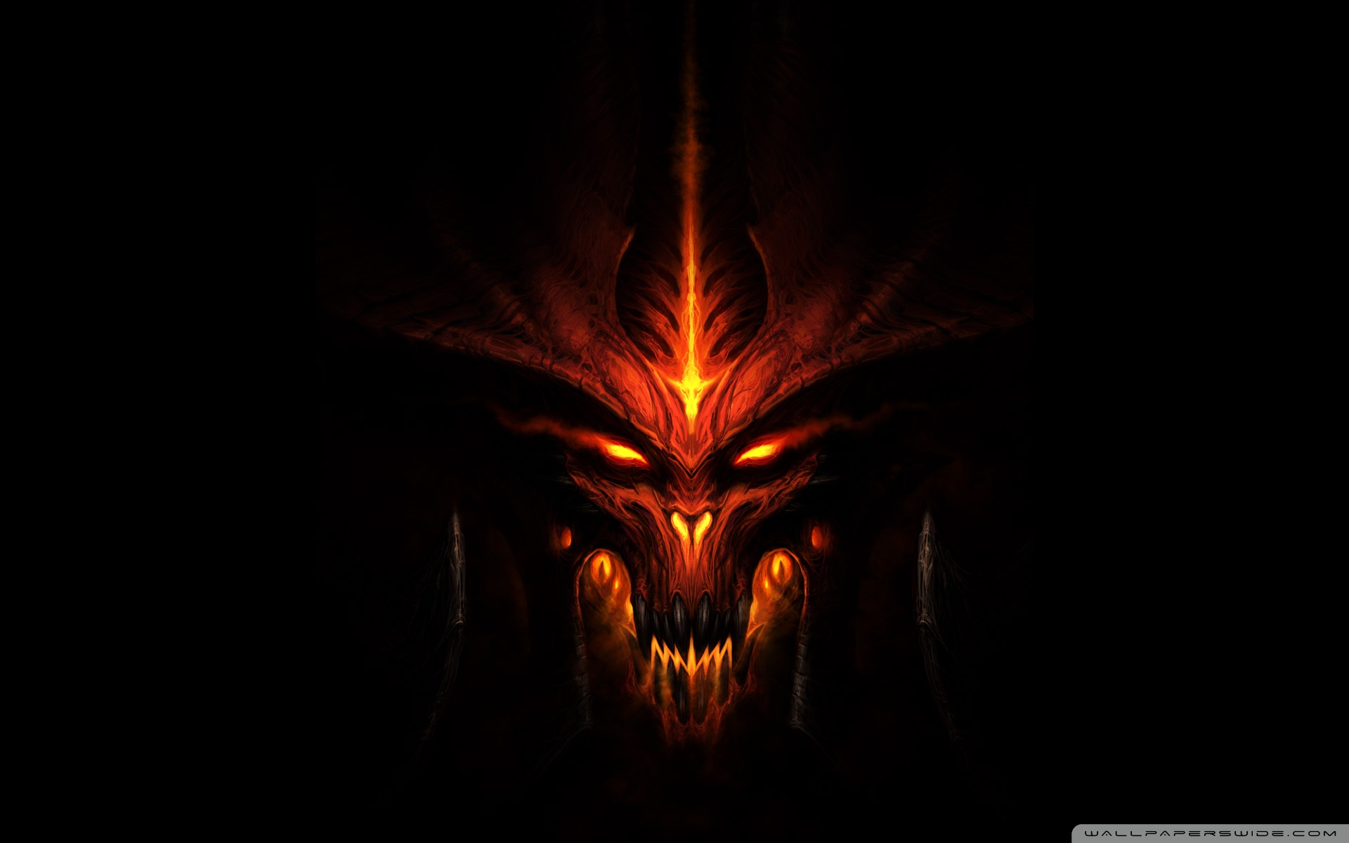 Diablo 3 Fiery HD Wide Wallpaper for Widescreen