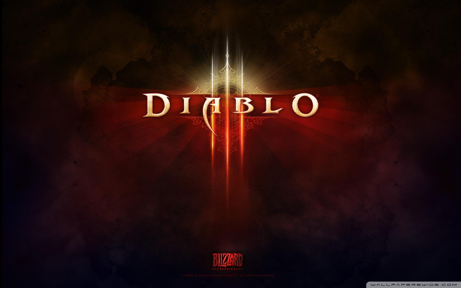 Diablo III HD Wide Wallpaper for Widescreen