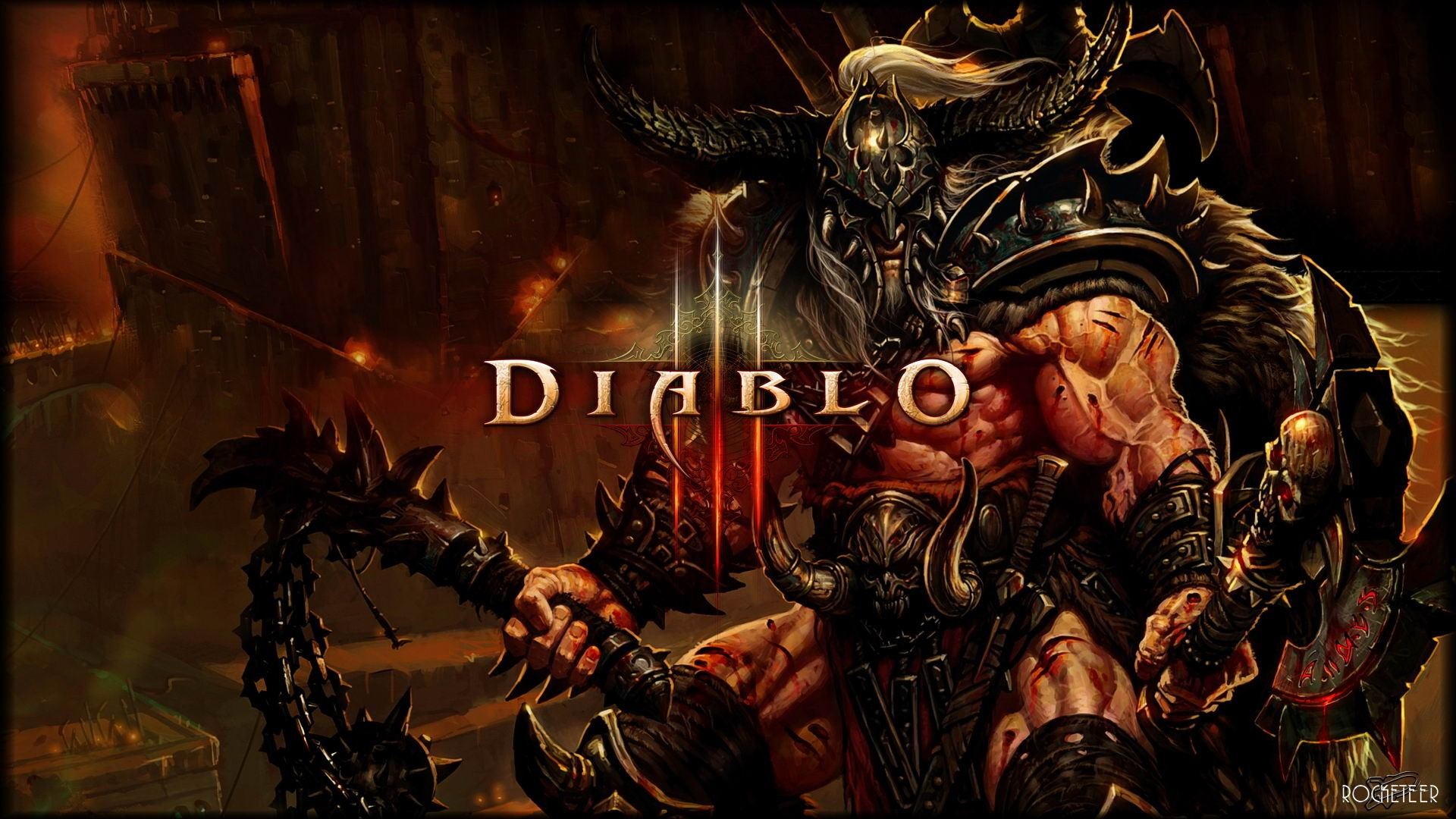 Great View Diablo 3 Wallpaper