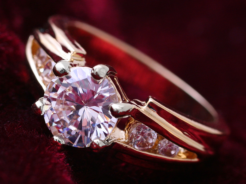 Diamond Ring Wallpaper