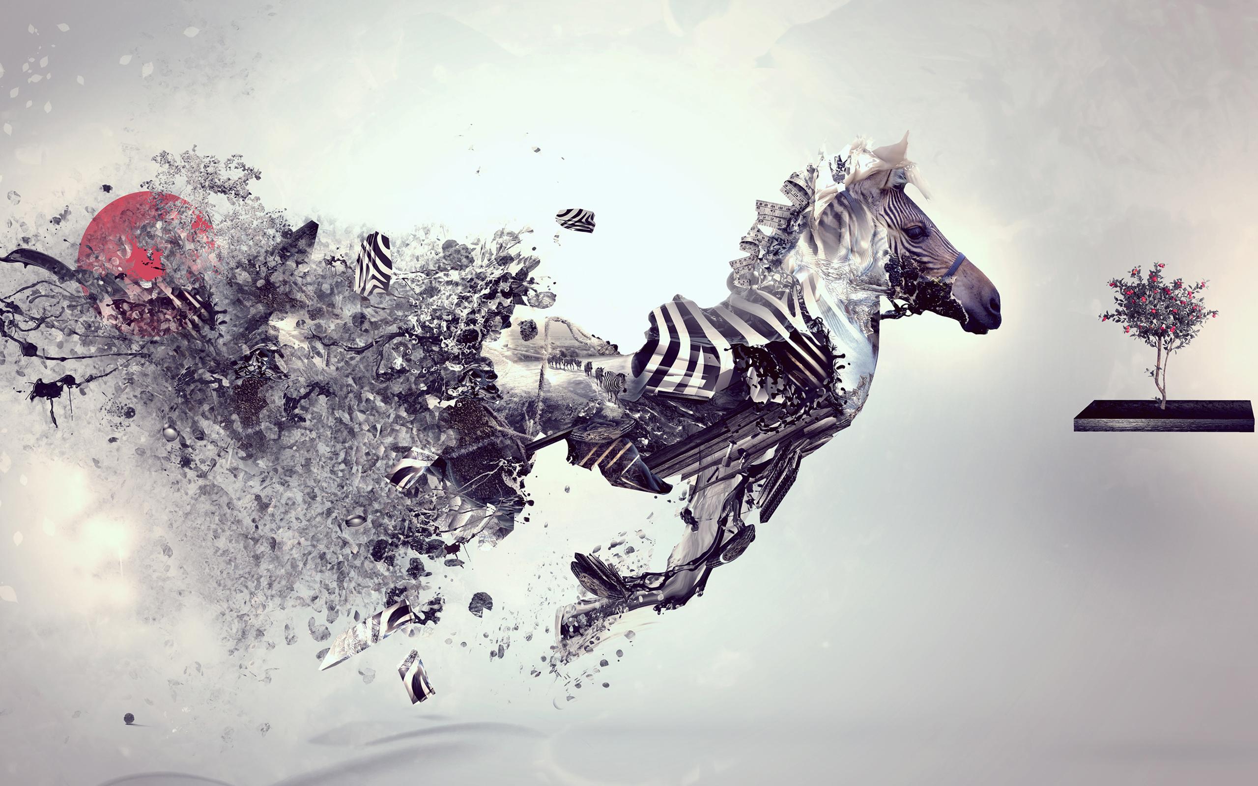 amazing digital art animal HD wallpaper Wallpaper