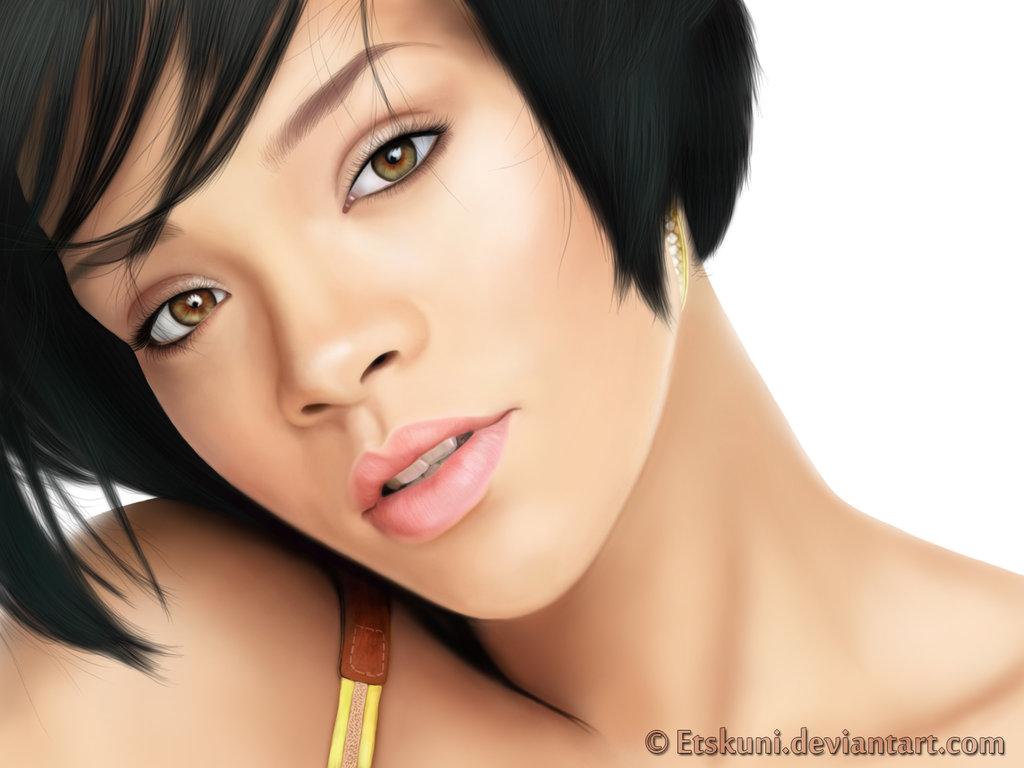 Digital Art Rihanna