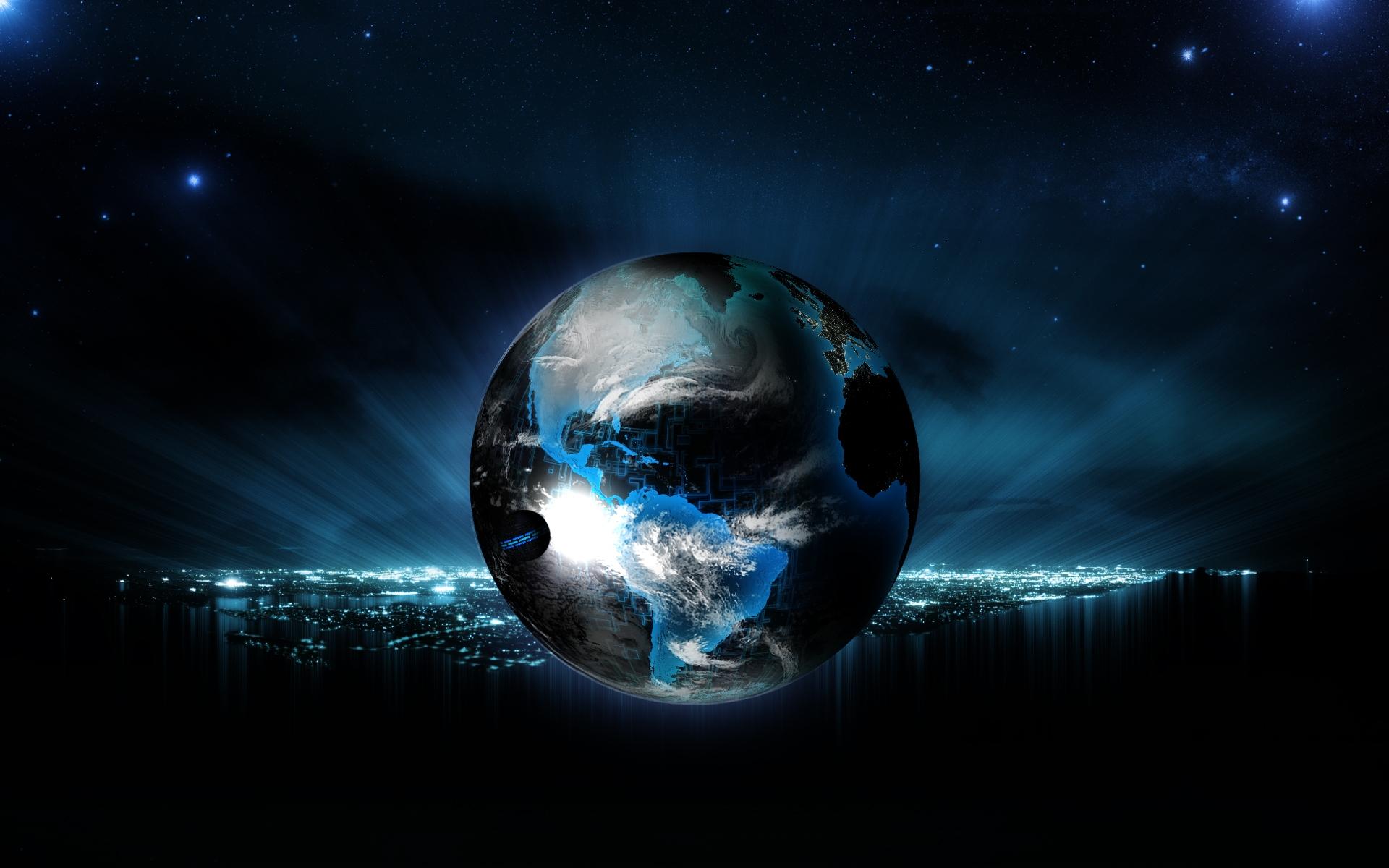 Digital Earth Wallpaper