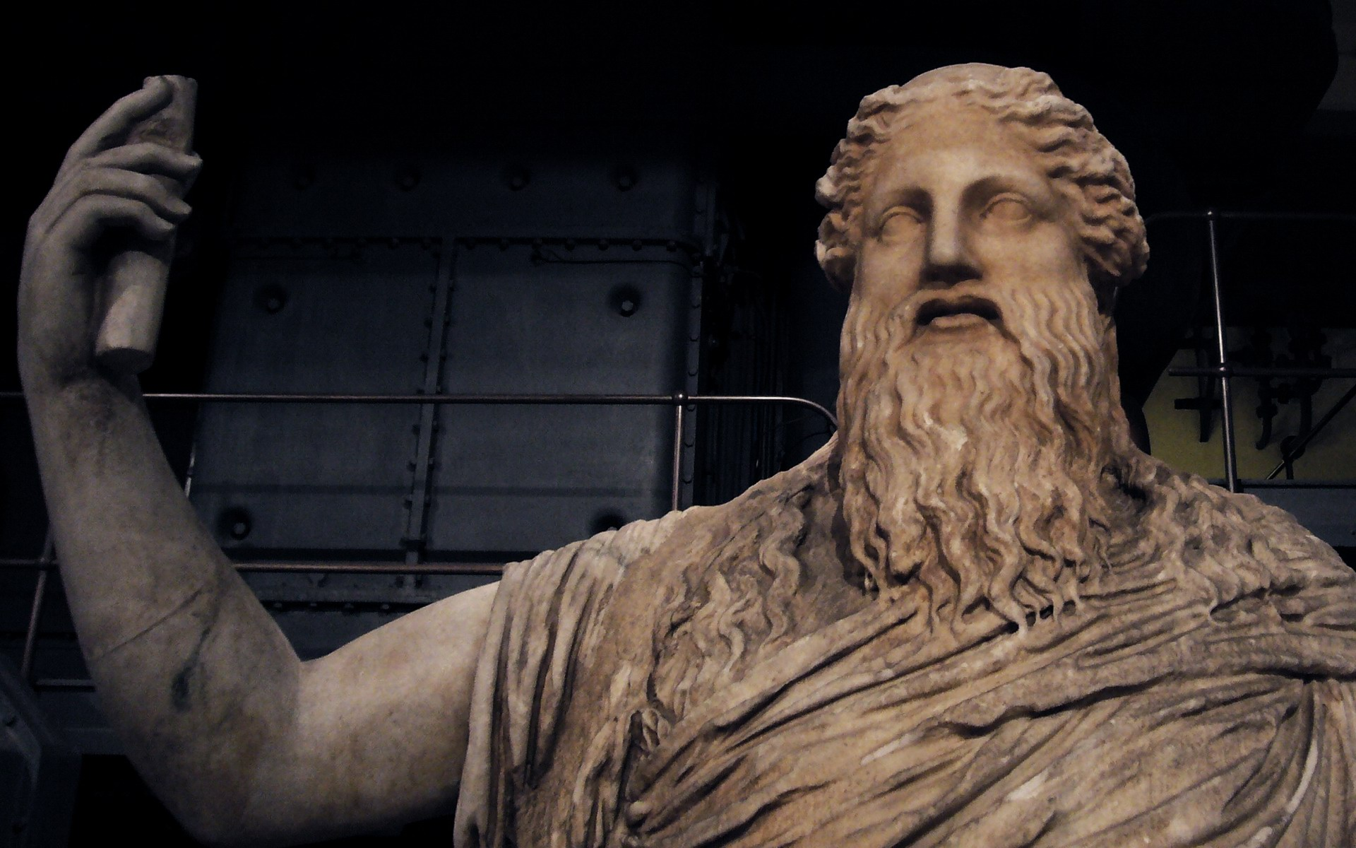 Statue Of Dionysus, Centrale Montemartini Museum, Rome photos, wallpapers