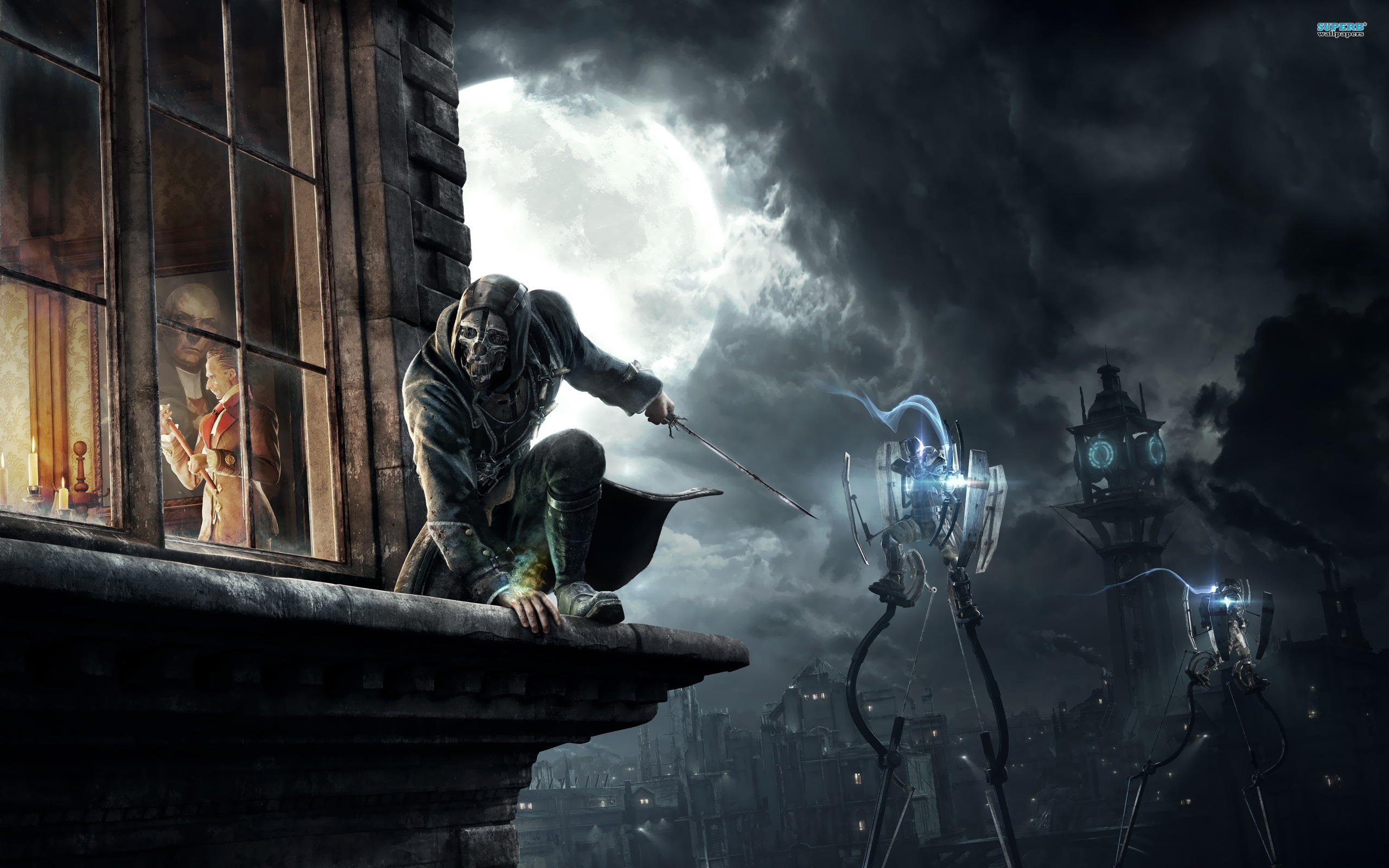 Dishonored wallpaper 2560x1600 jpg