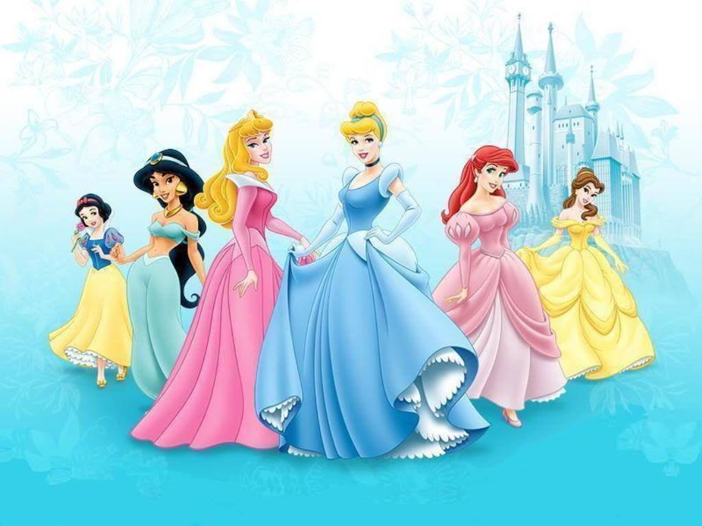 Disney Princess 1024x768