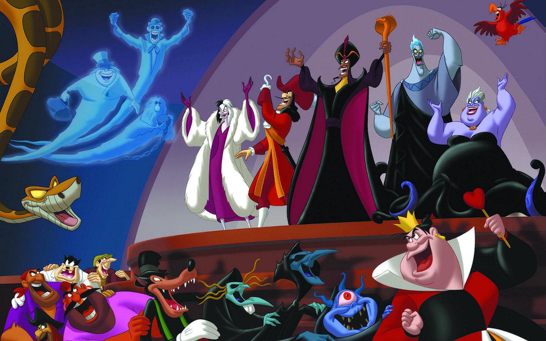 Disney Villains Disney Villains Wallpaper