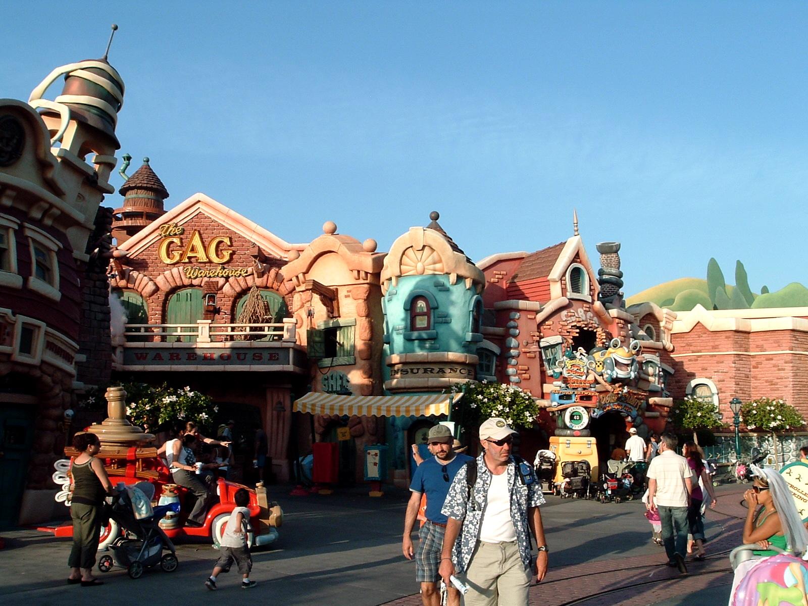 Downtown Toontown in Disneyland