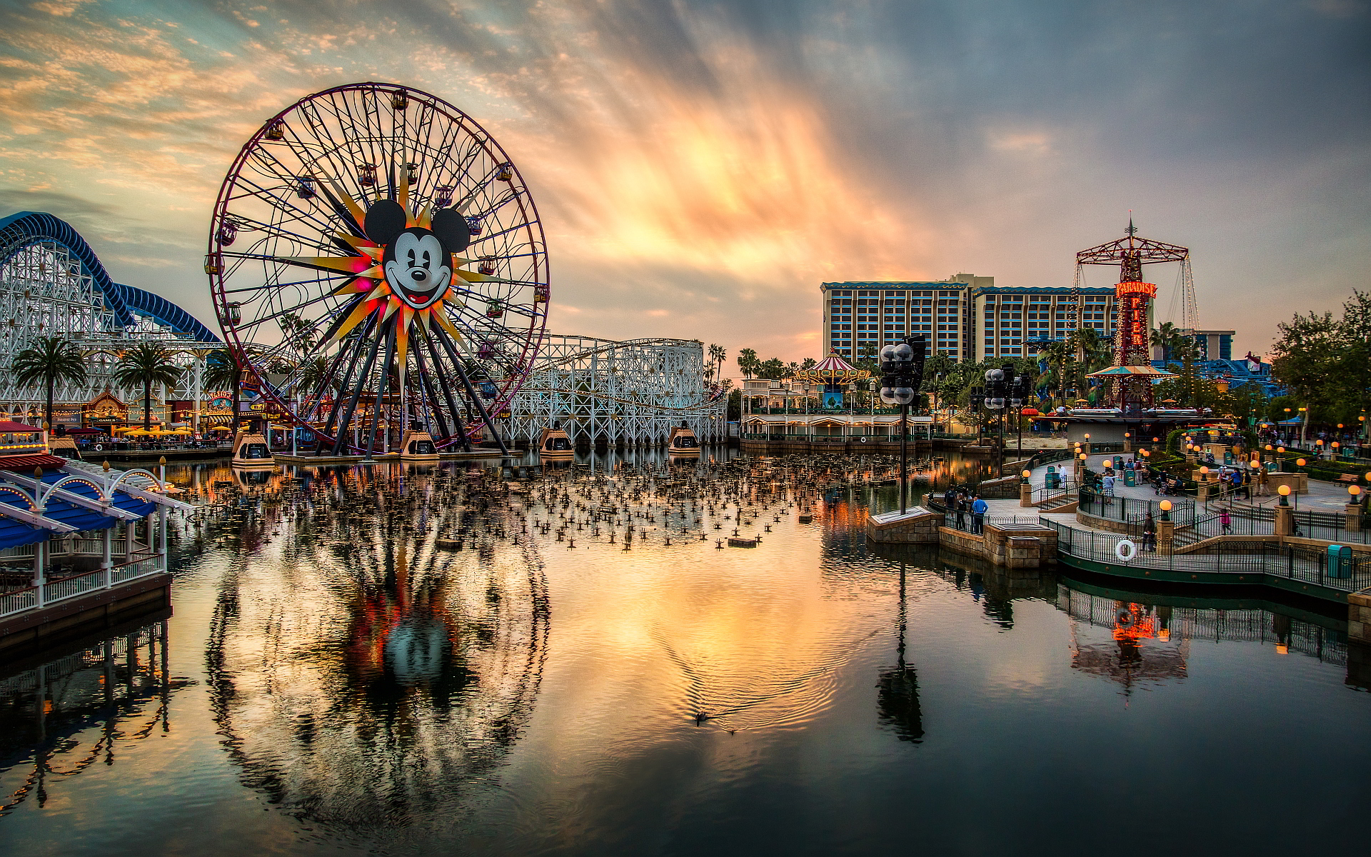 Paradise pier disneyland Wallpapers Pictures Photos Images · «