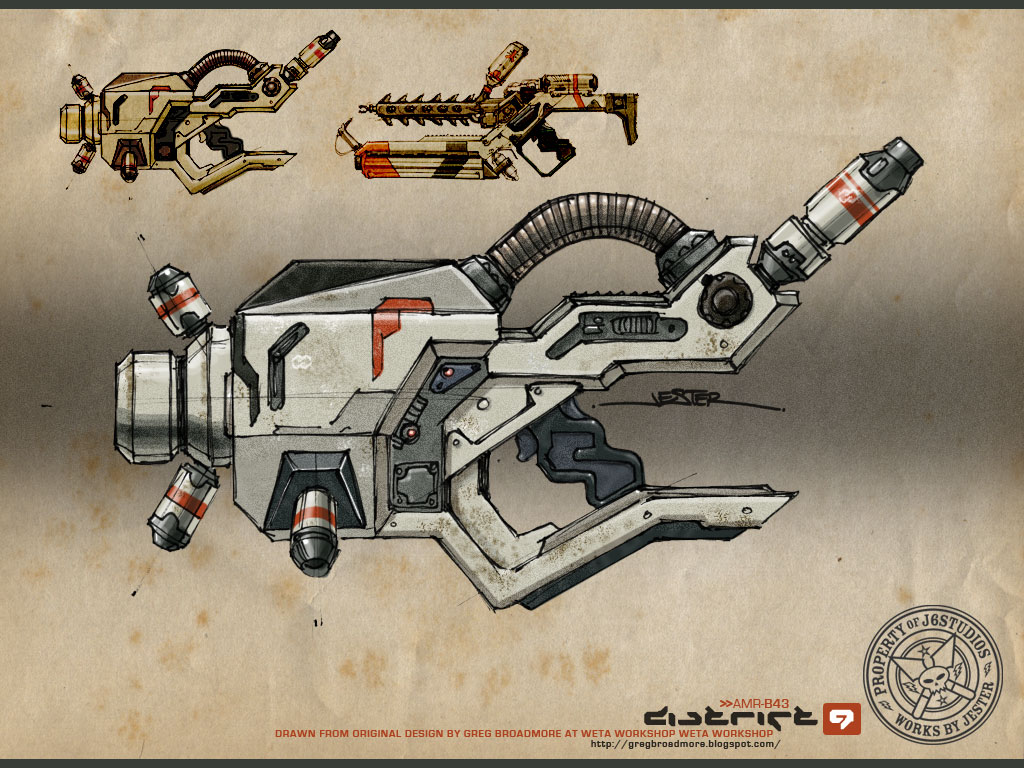 District 9 Gun – 2