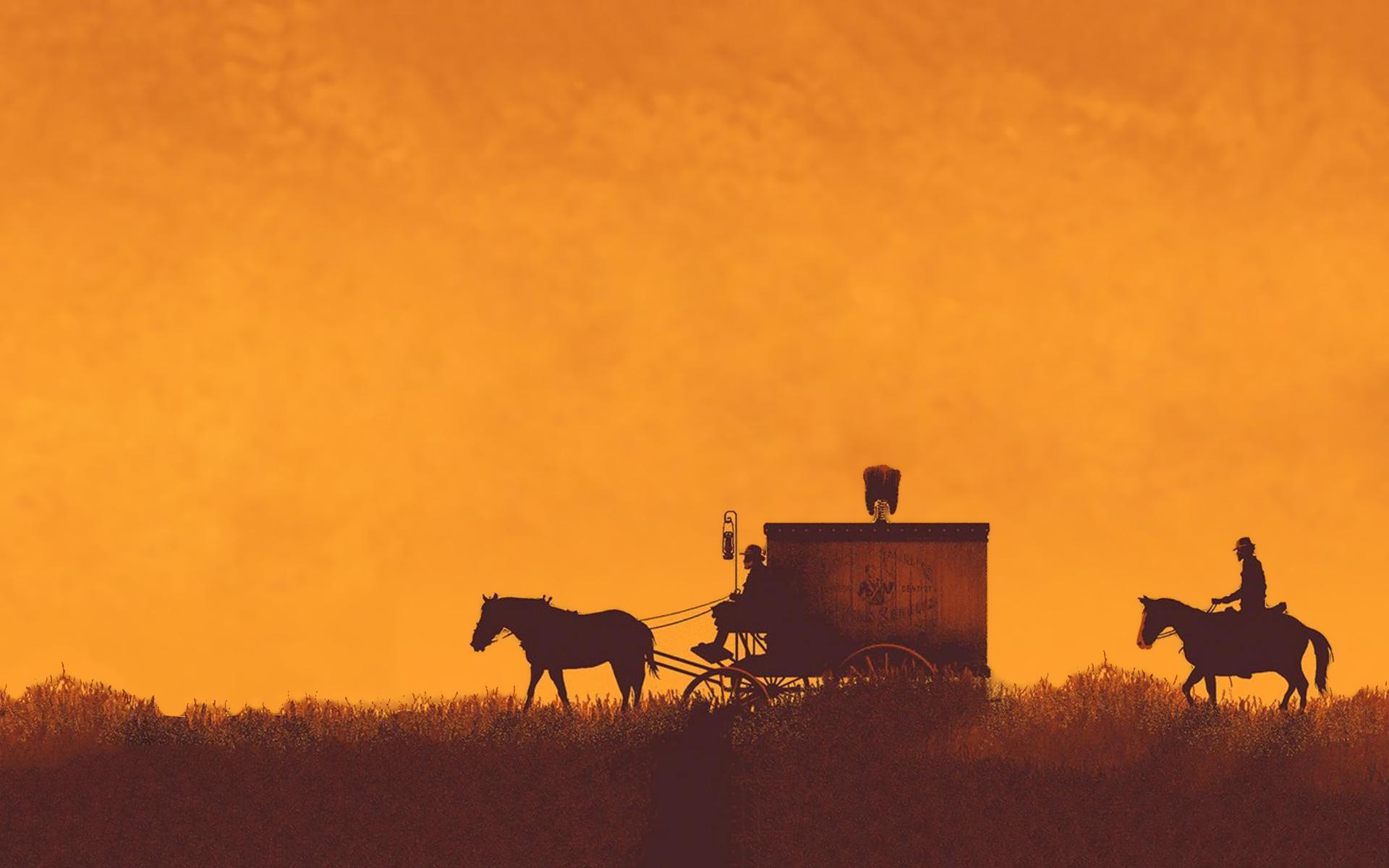 Django western artwork
