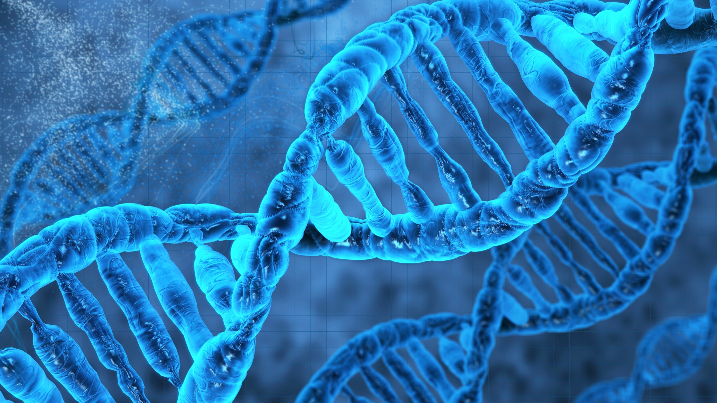 DNA Molecule 3D Wallpaper