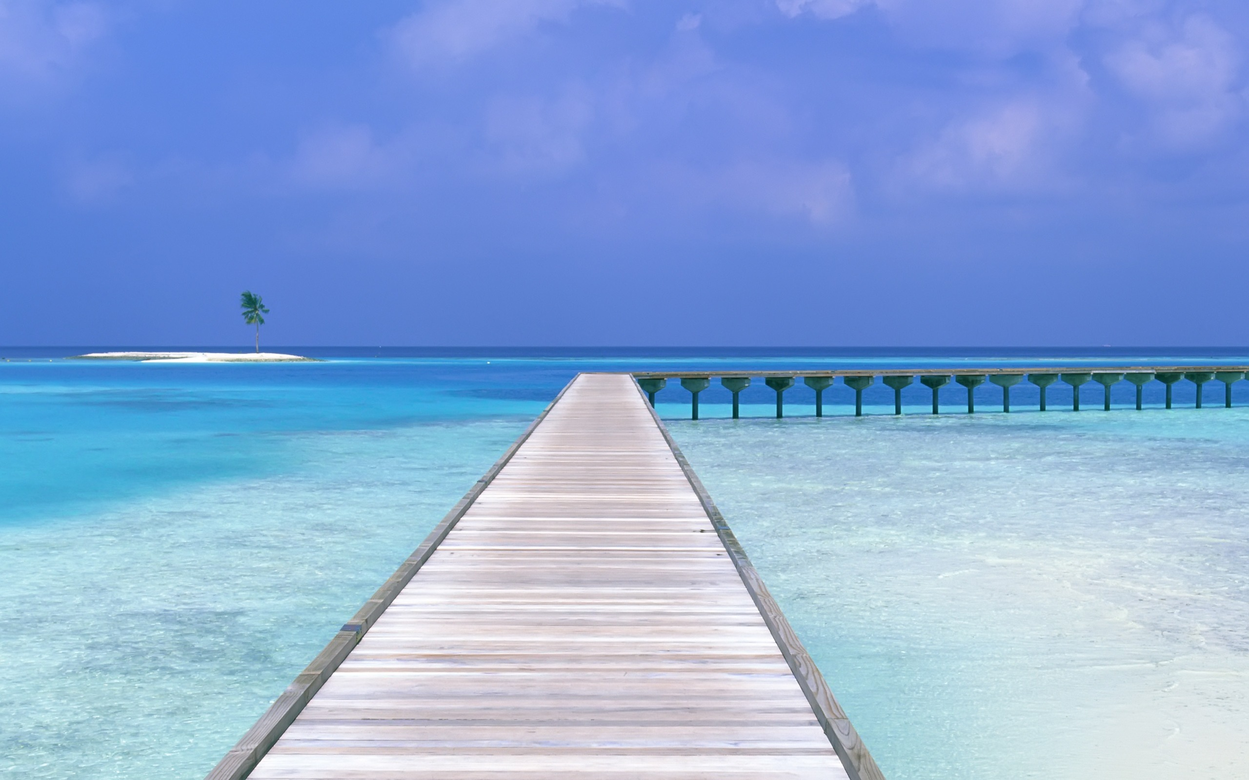 2560x1600 Maldives Dock Wallpaper Maldives World wallpaper