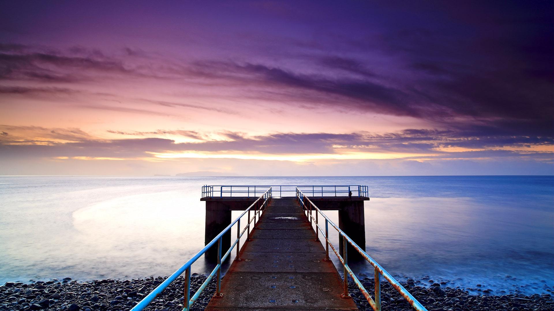 Amazing Dock Wallpaper ...