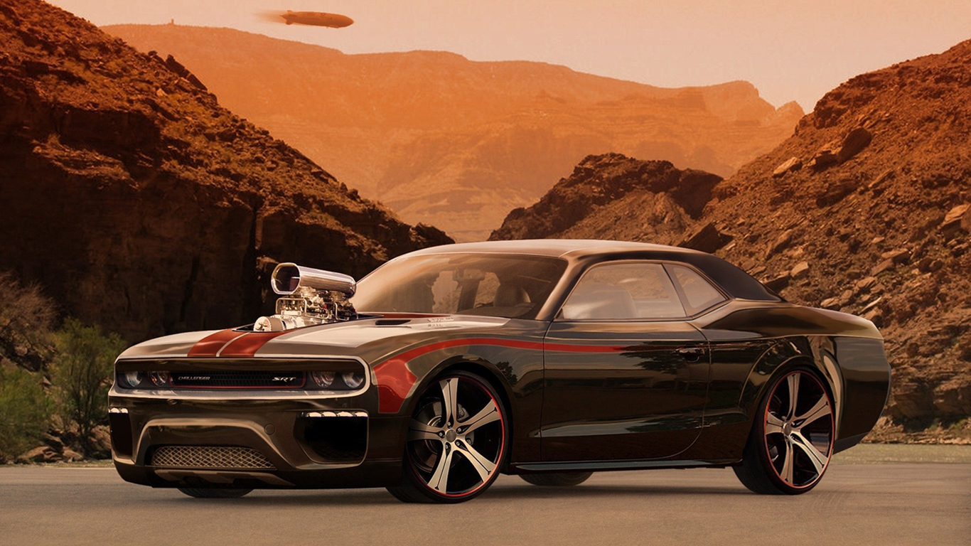 Dodge Challenger Car Tuning