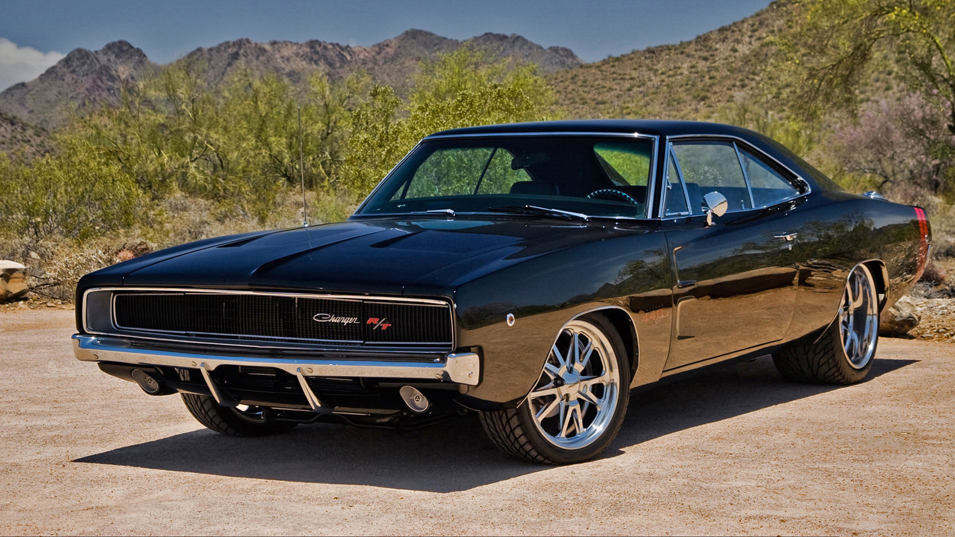 Dodge Charger R/T, can anyone think of a car as intimidating as this beast?