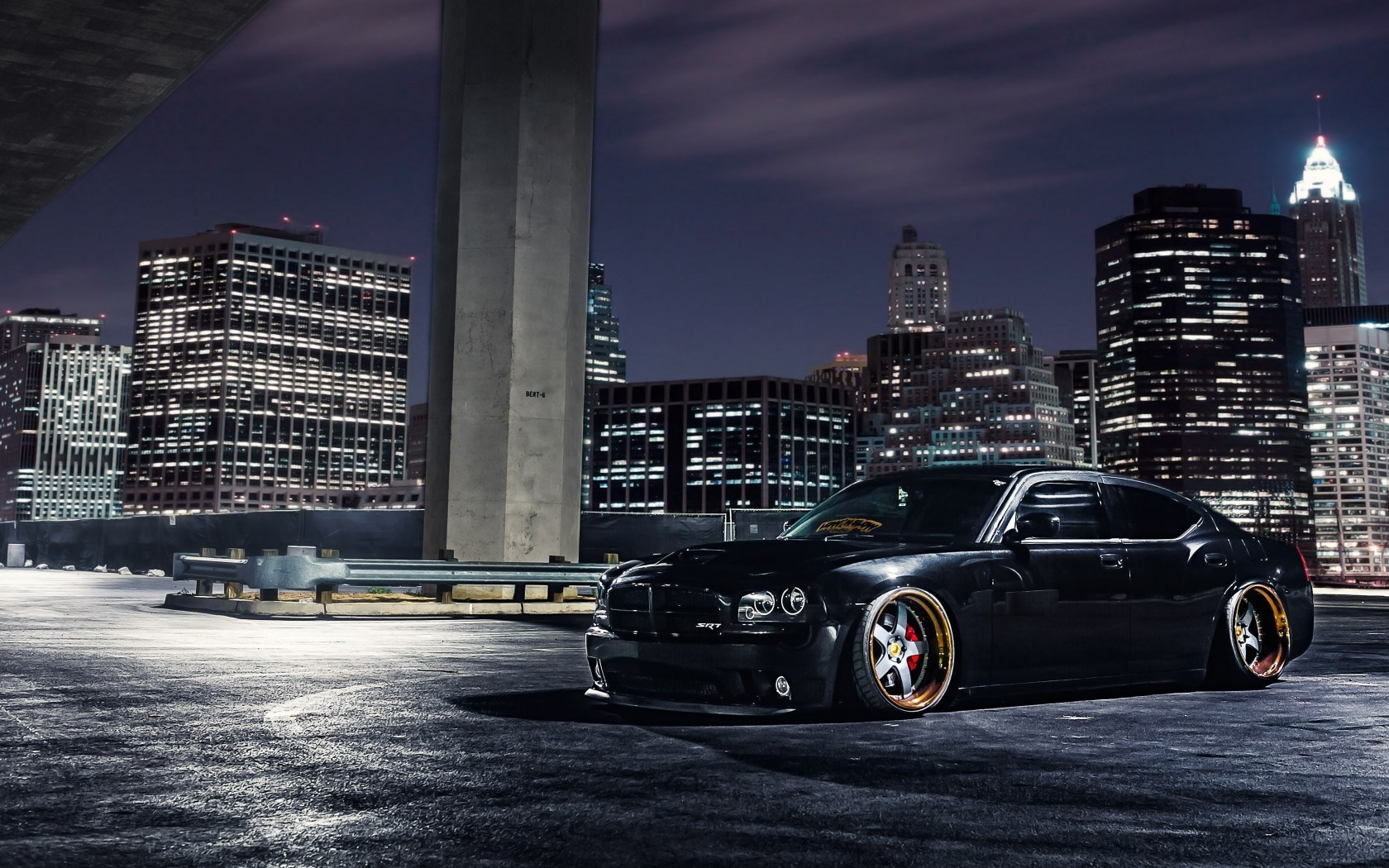 Dodge Charger SRT8 Supercharger Car Tuning Parking