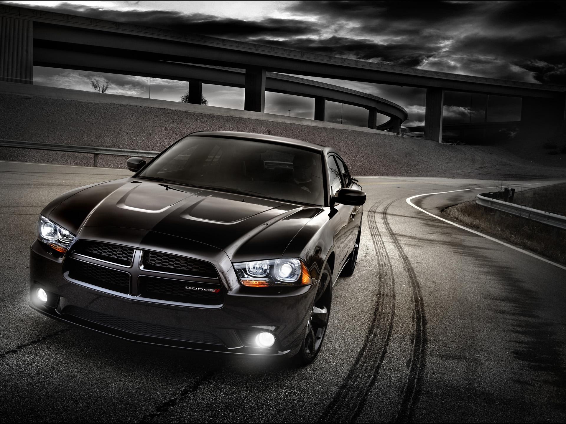 Black Dodge Charger Wallpaper 20203