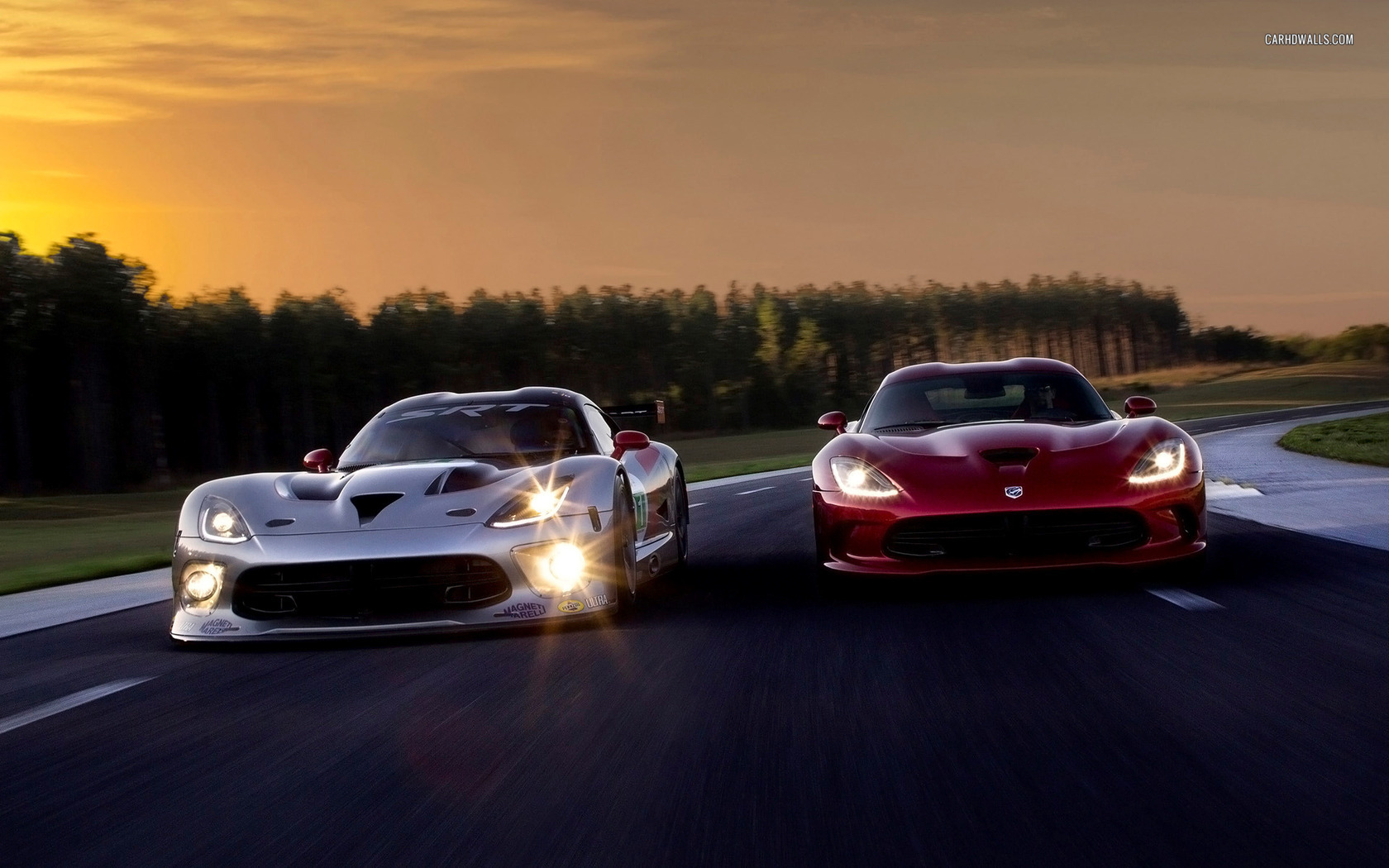 Dodge Viper SRT GTS-R 2013 1680x1050 wallpaper