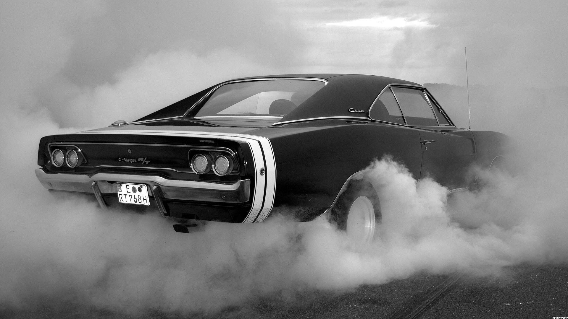 Dodge Charger Smoke Wallpapers