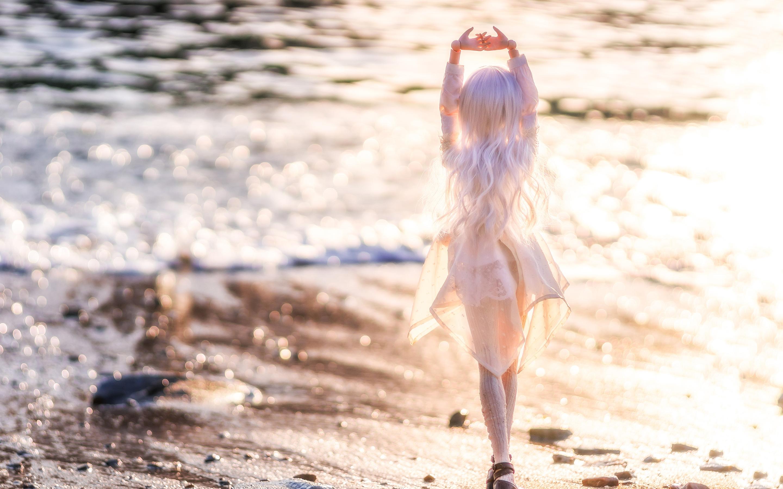 Doll beach beach waves
