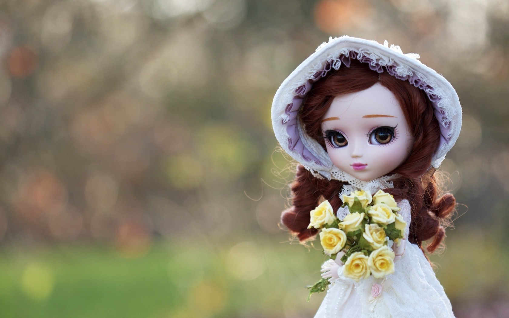 Doll Toy Bouquet Roses