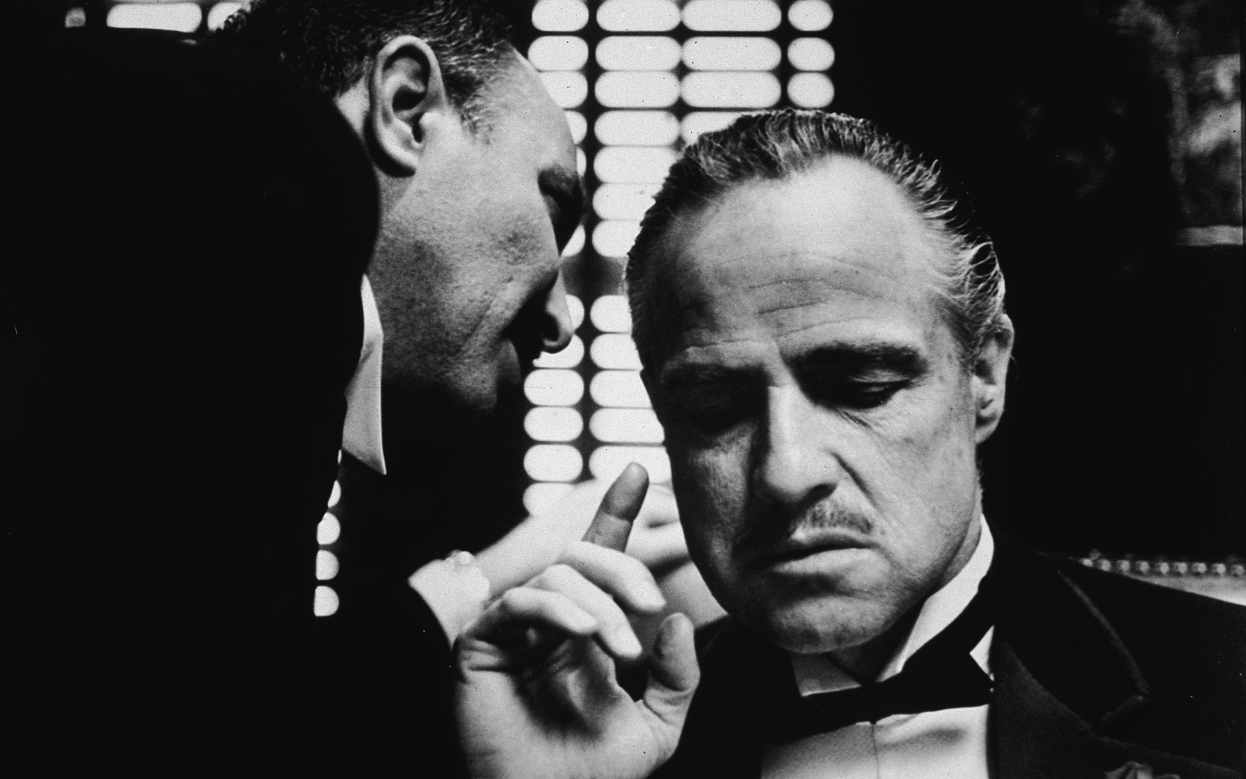 original wallpaper download: Don Corleone Godfather - 2560x1600