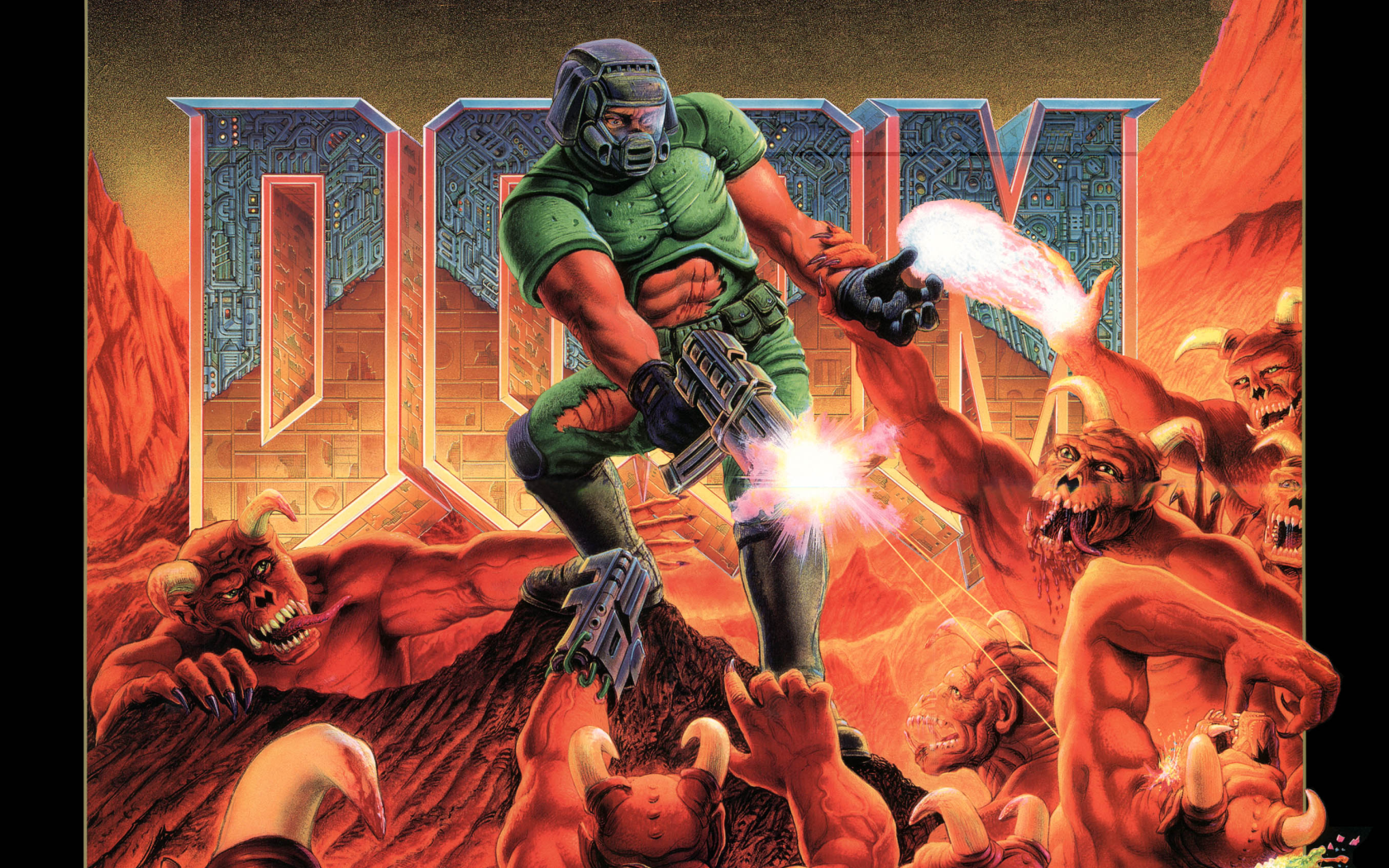 1680x1050 Doom wallpaper