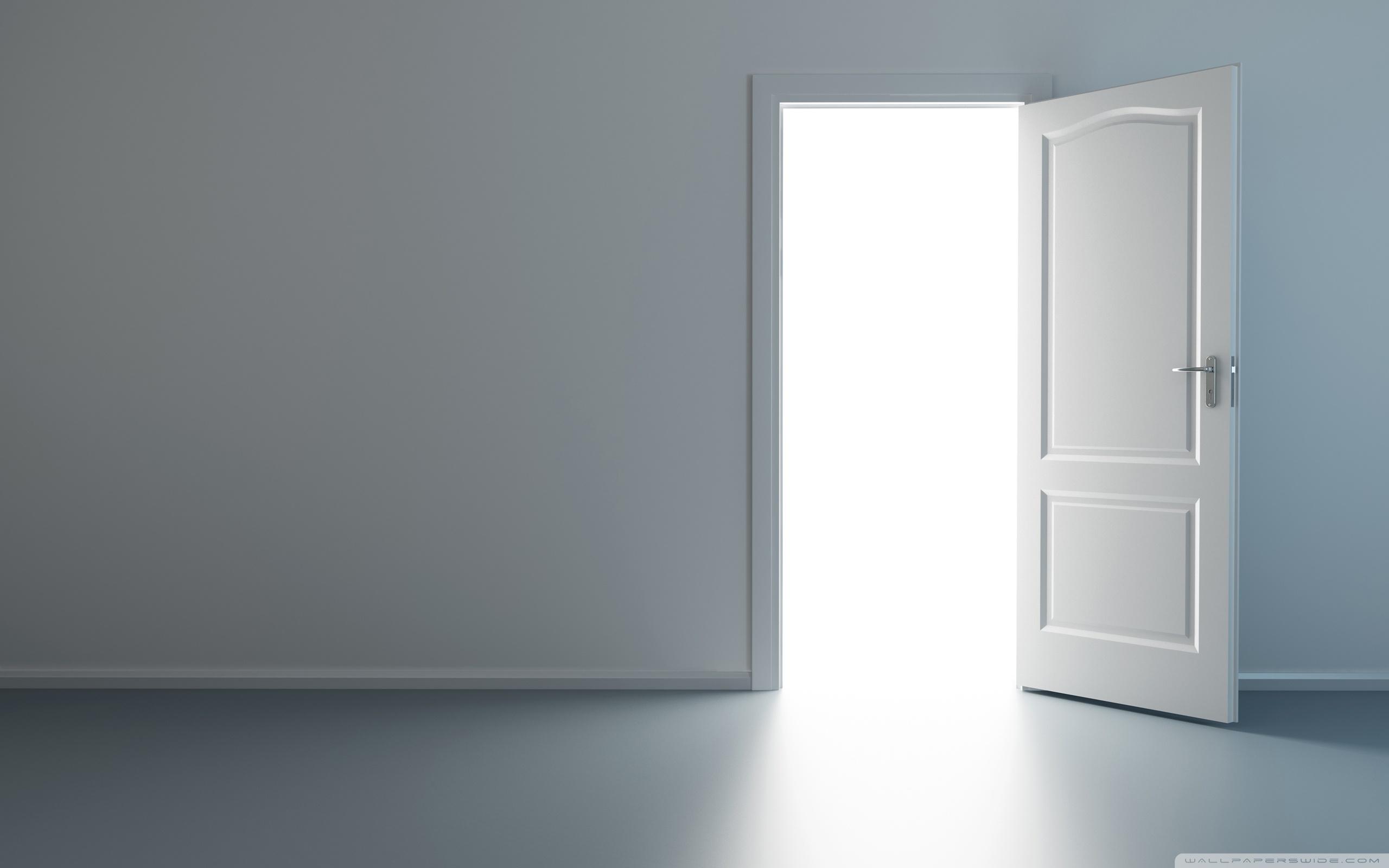 Be an opener of doors.